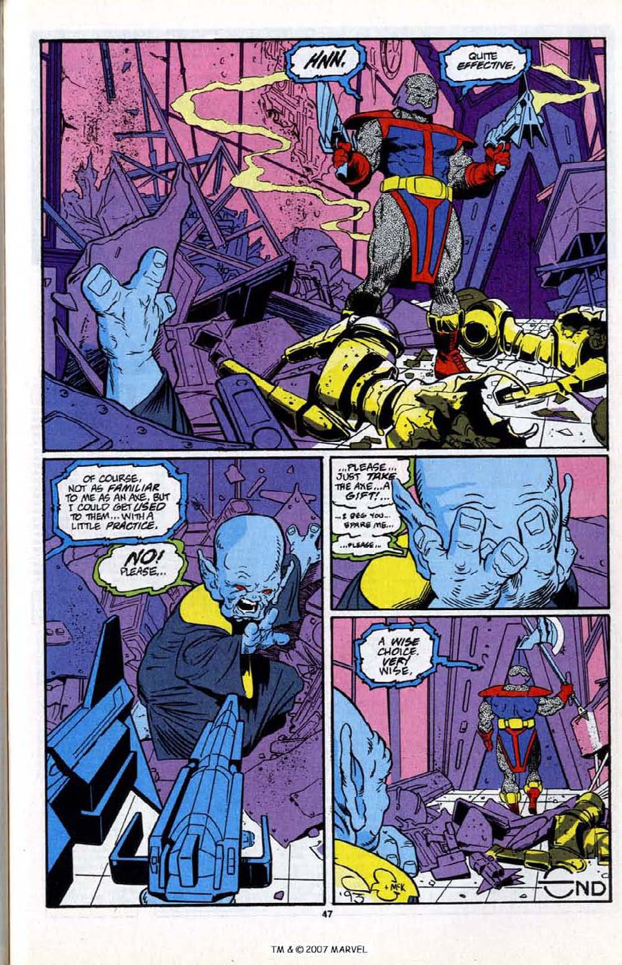 Read online Silver Surfer (1987) comic -  Issue # _Annual 6 - 49