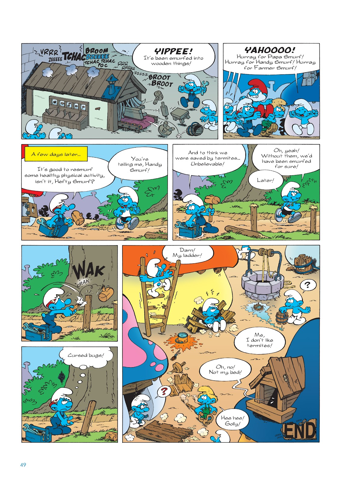 Read online The Smurfs comic -  Issue #23 - 49
