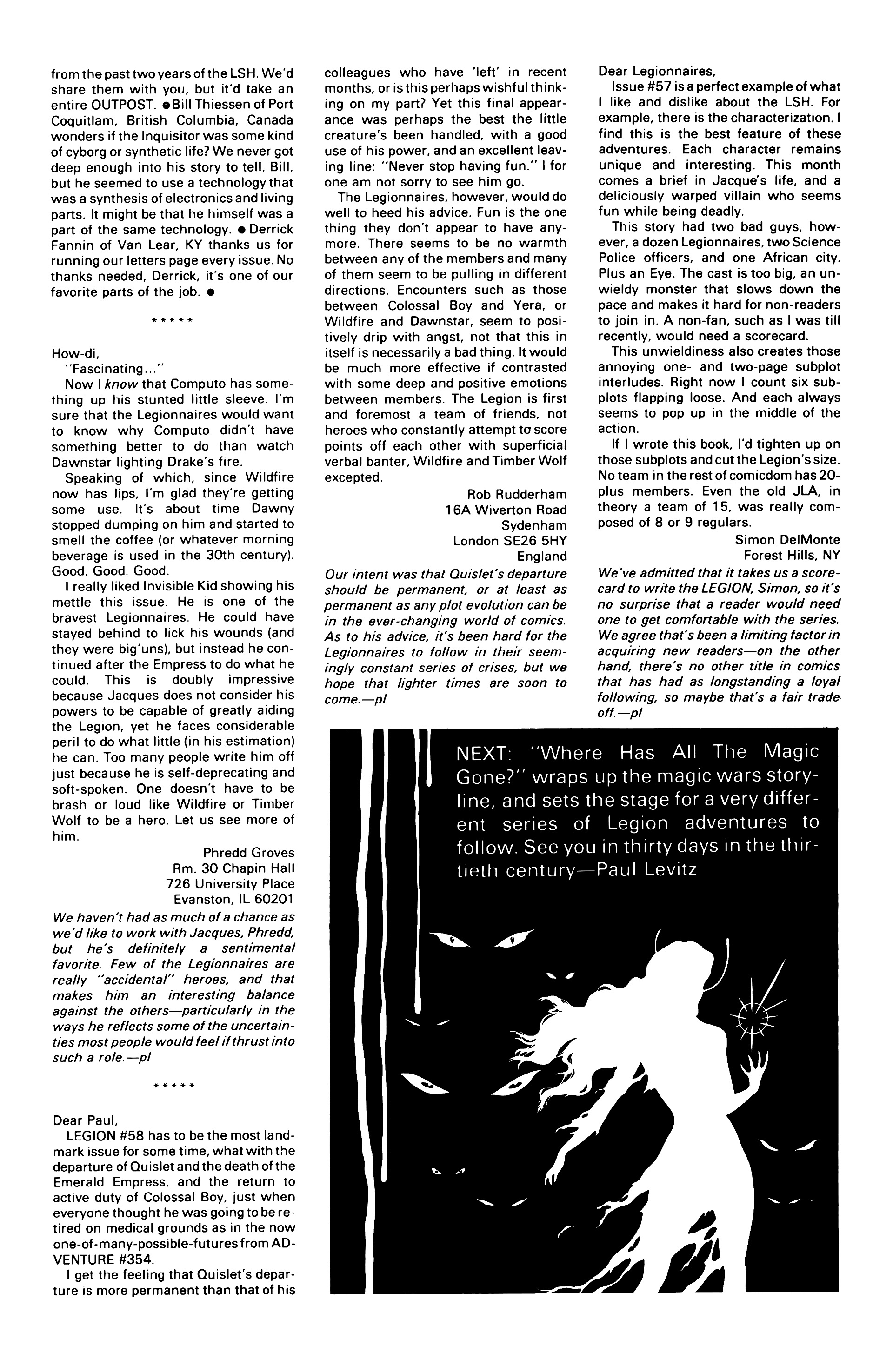 Legion of Super-Heroes (1984) 62 Page 29