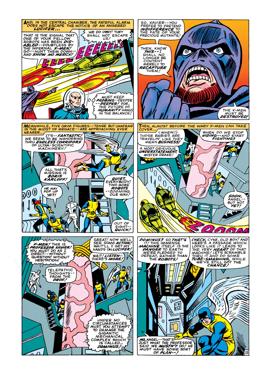 Read online Uncanny X-Men (1963) comic -  Issue #21 - 16