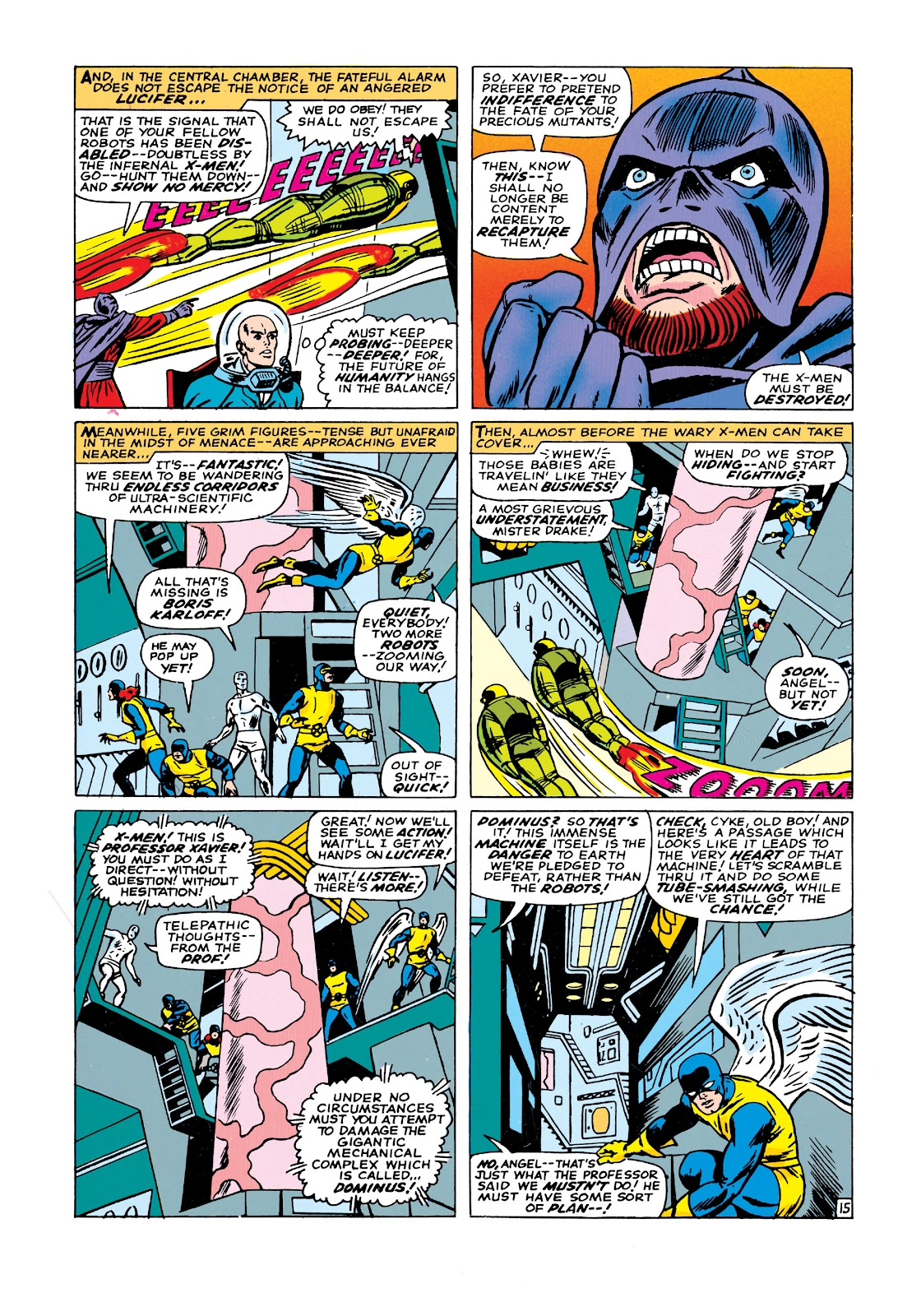 Uncanny X-Men (1963) issue 21 - Page 16