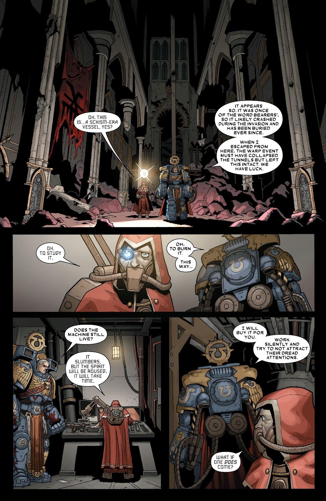 Warhammer 40,000: Marneus Calgar issue 5 - Page 10