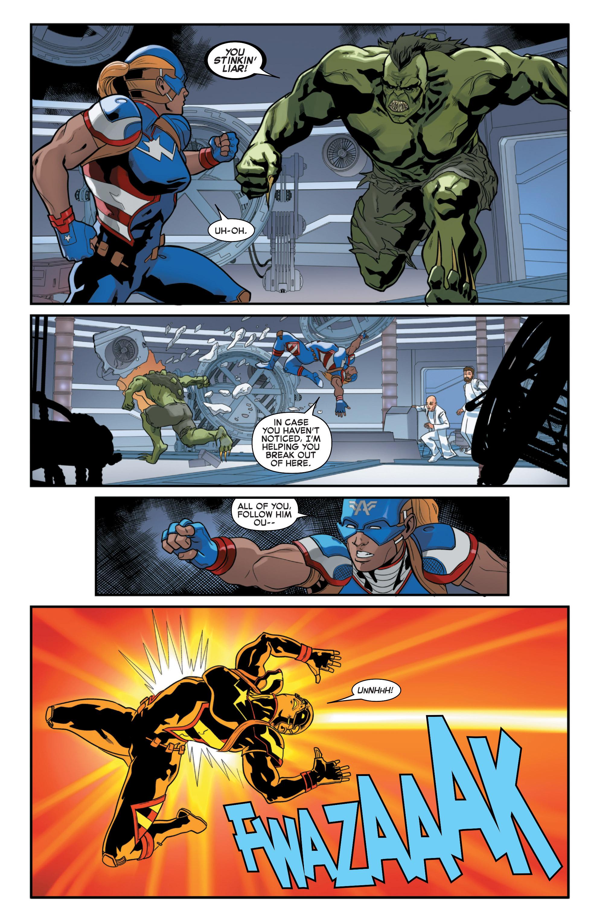 Read online Secret Wars 2099 comic -  Issue #4 - 16