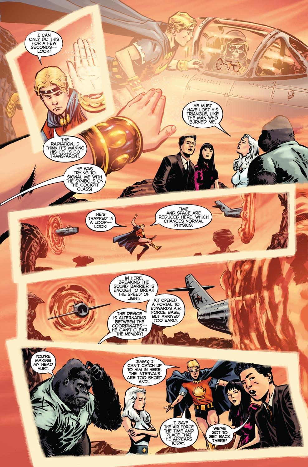 Read online Agents Of Atlas (2009) comic -  Issue #4 - 18