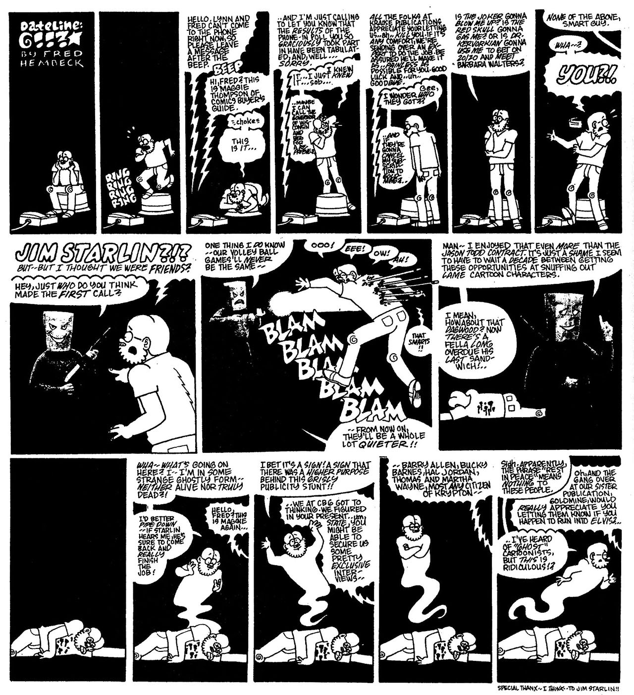 Read online The Nearly Complete Essential Hembeck Archives Omnibus comic -  Issue # TPB (Part 7) - 83