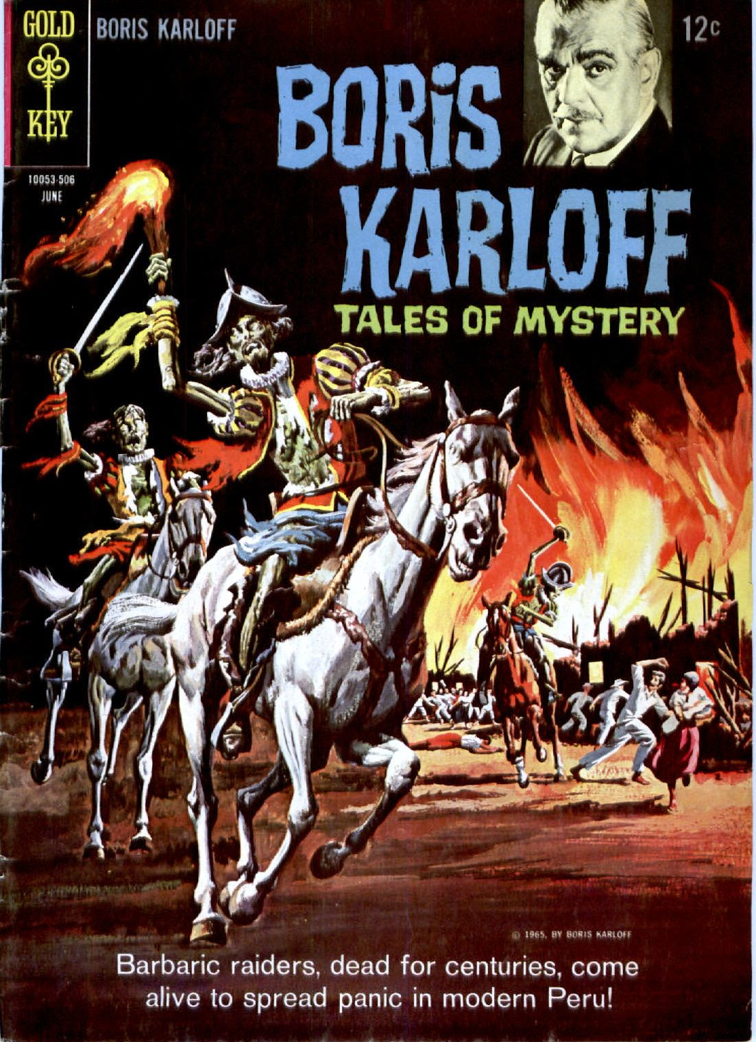 Boris Karloff Tales of Mystery issue 10 - Page 1