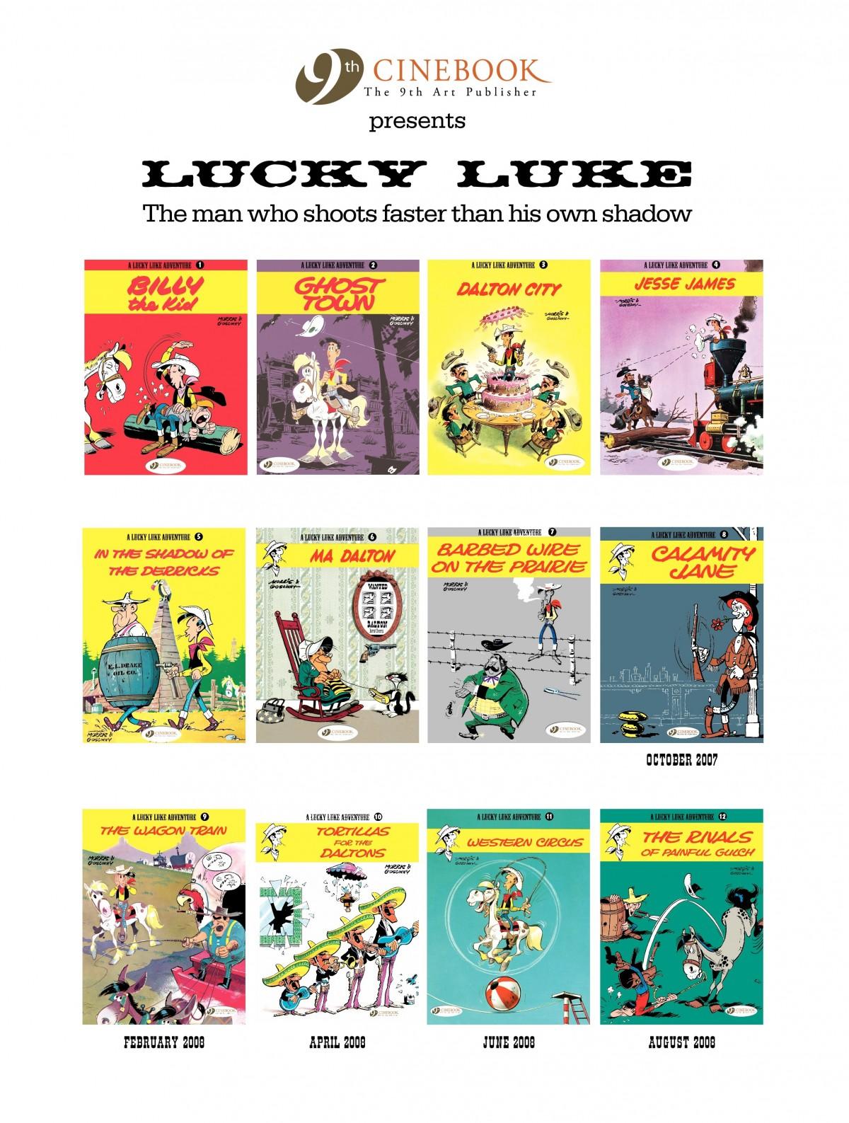 Read online A Lucky Luke Adventure comic -  Issue #1 - 49