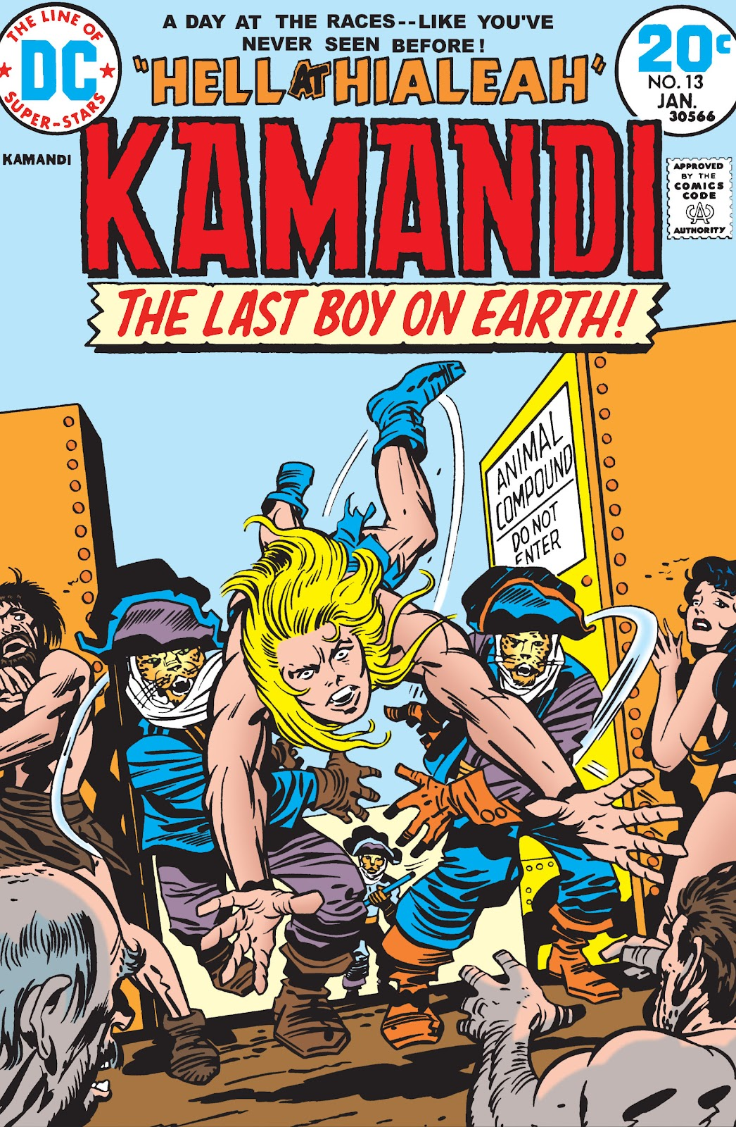 Kamandi, The Last Boy On Earth issue 13 - Page 1