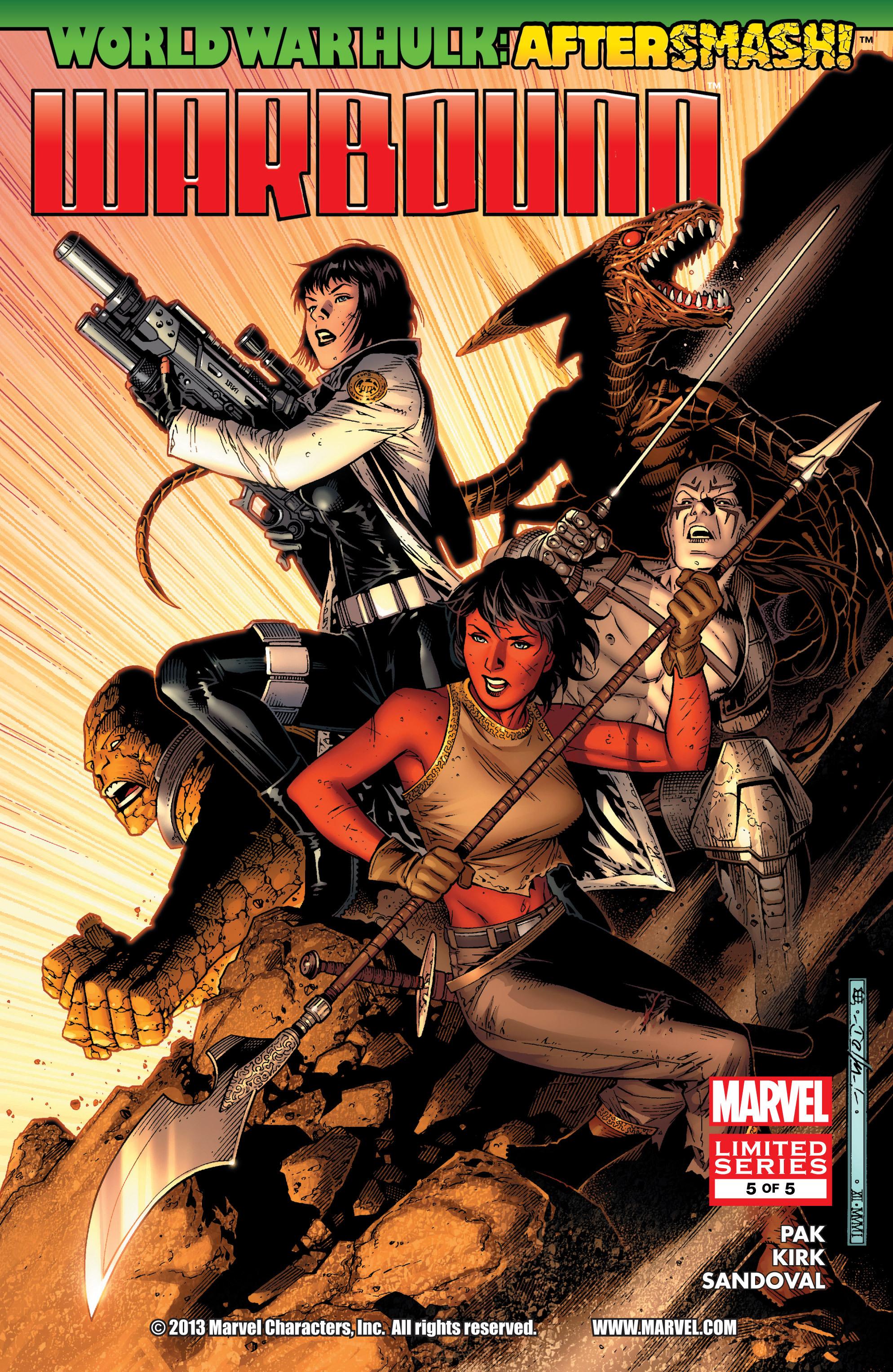 Read online World War Hulk Aftersmash: Warbound, Vol. 1 comic -  Issue #5 - 1