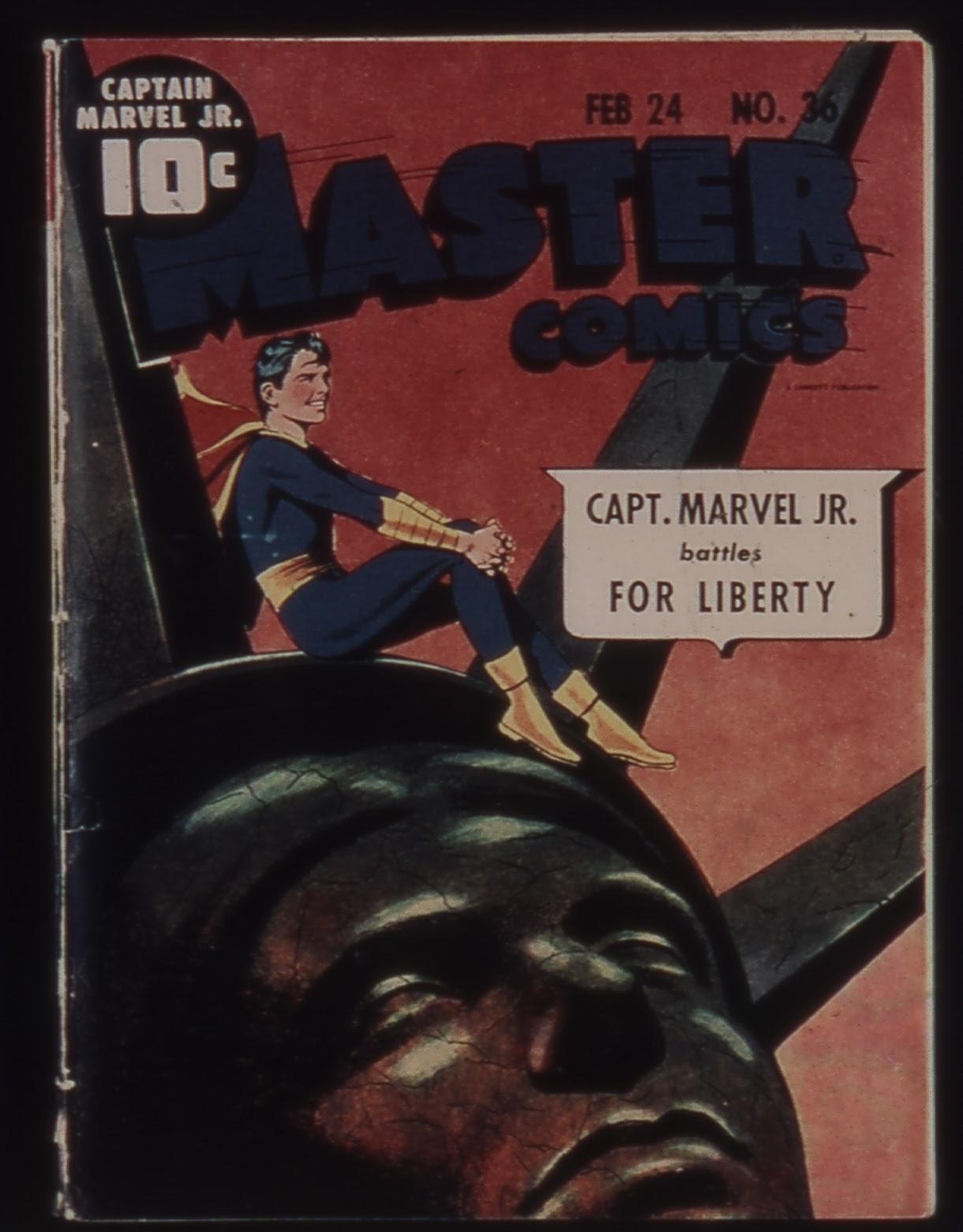 Master Comics 36 Page 1