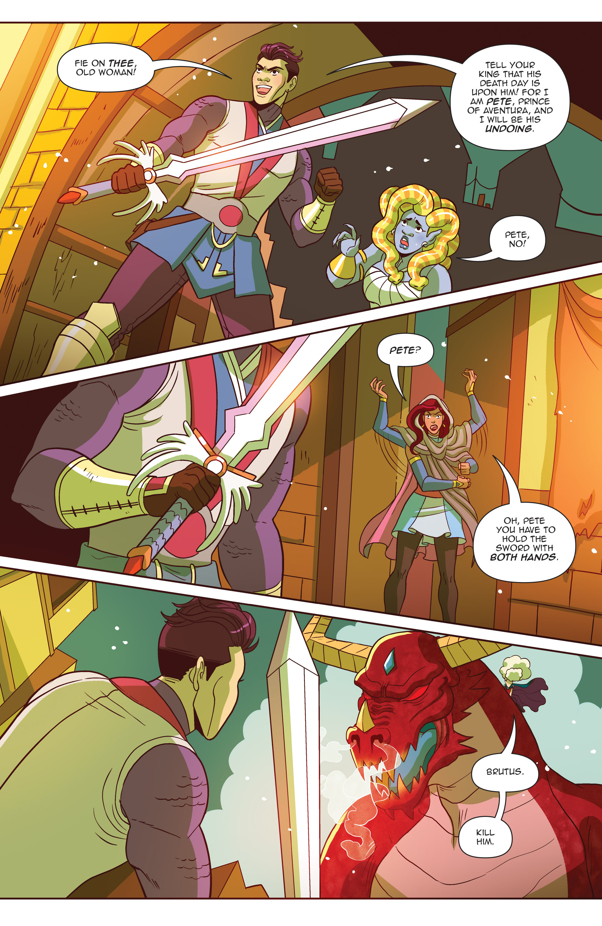 Read online Another Castle comic -  Issue #4 - 21