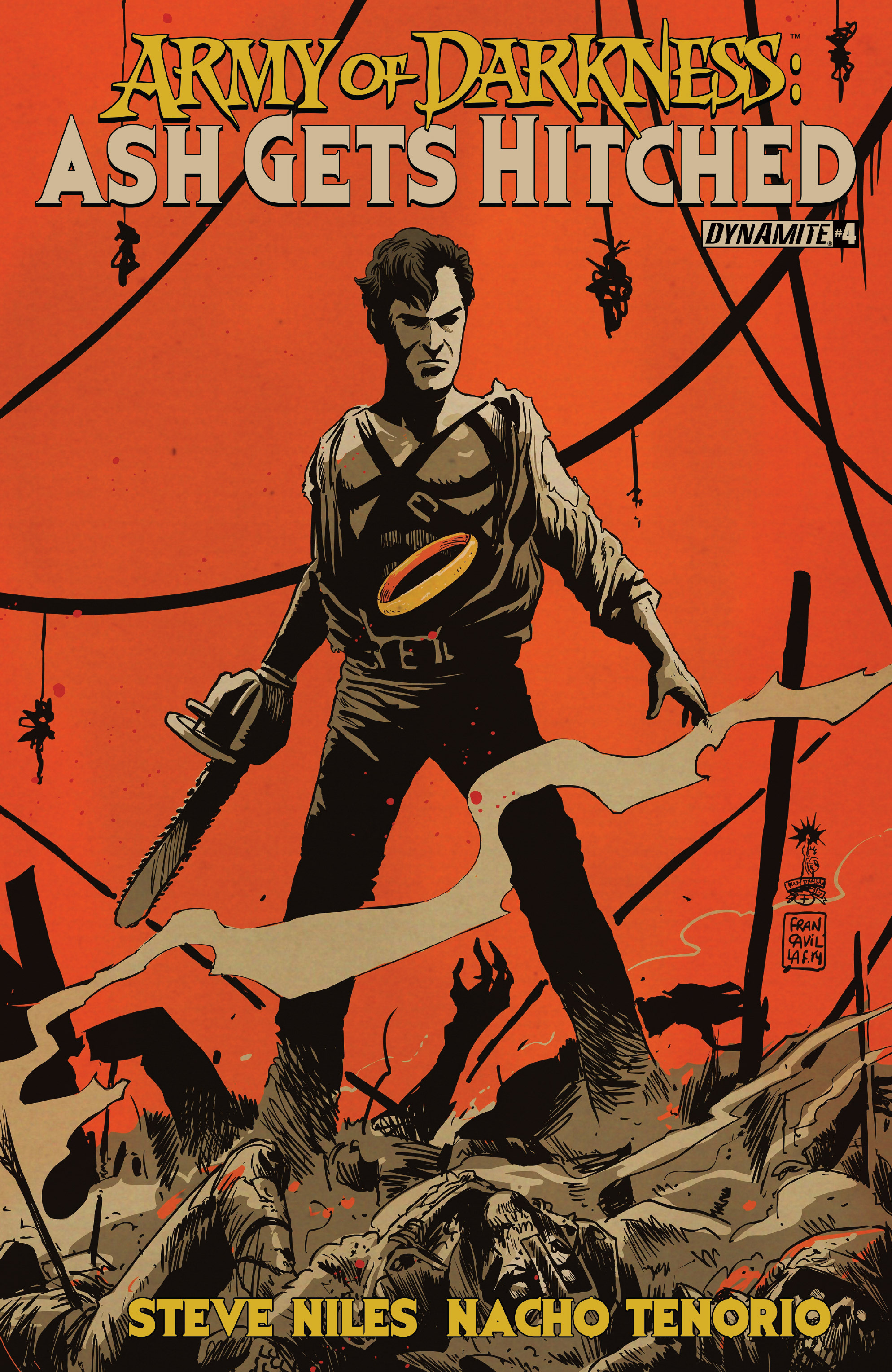 Read online Army of Darkness: Ash Gets Hitched comic -  Issue #4 - 2