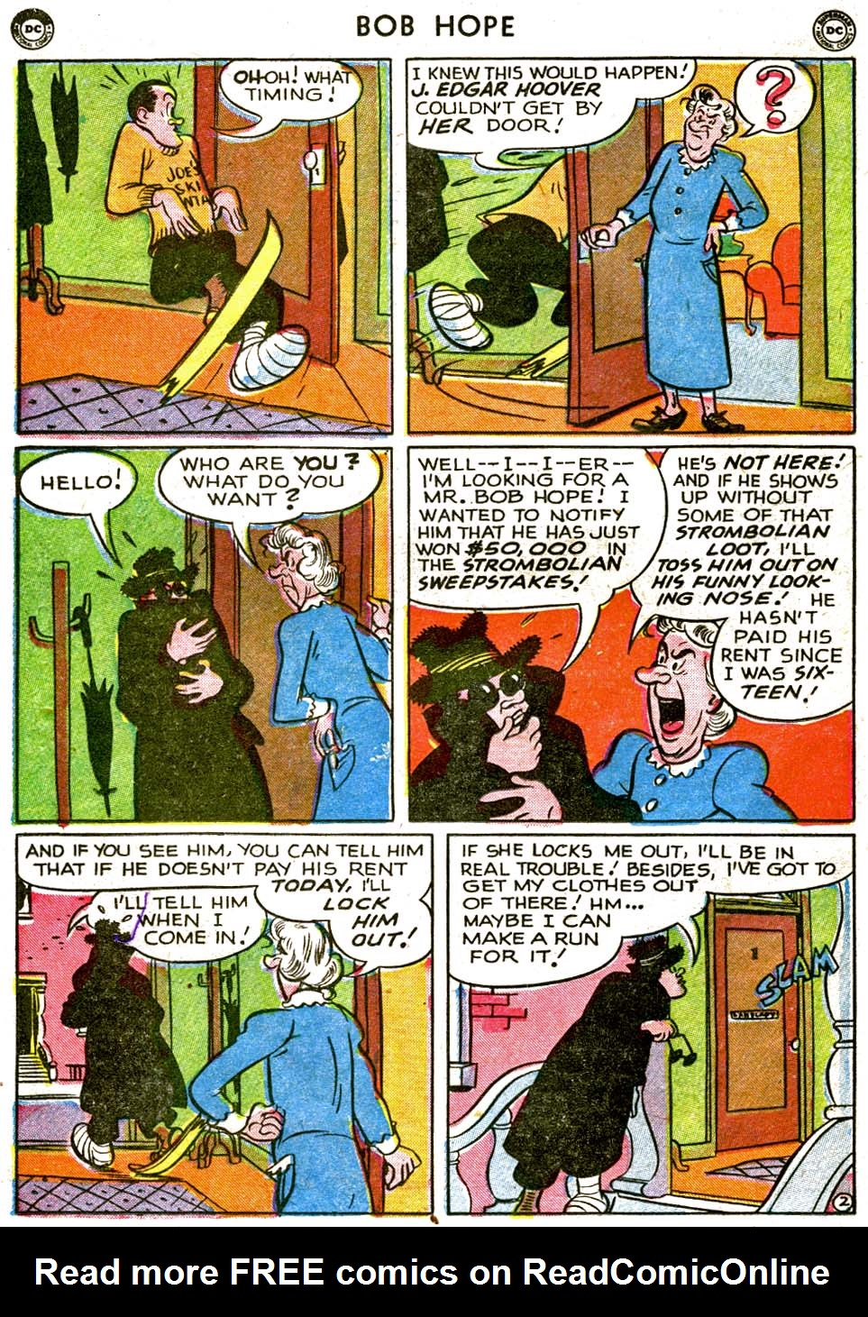 The Adventures of Bob Hope issue 1 - Page 38