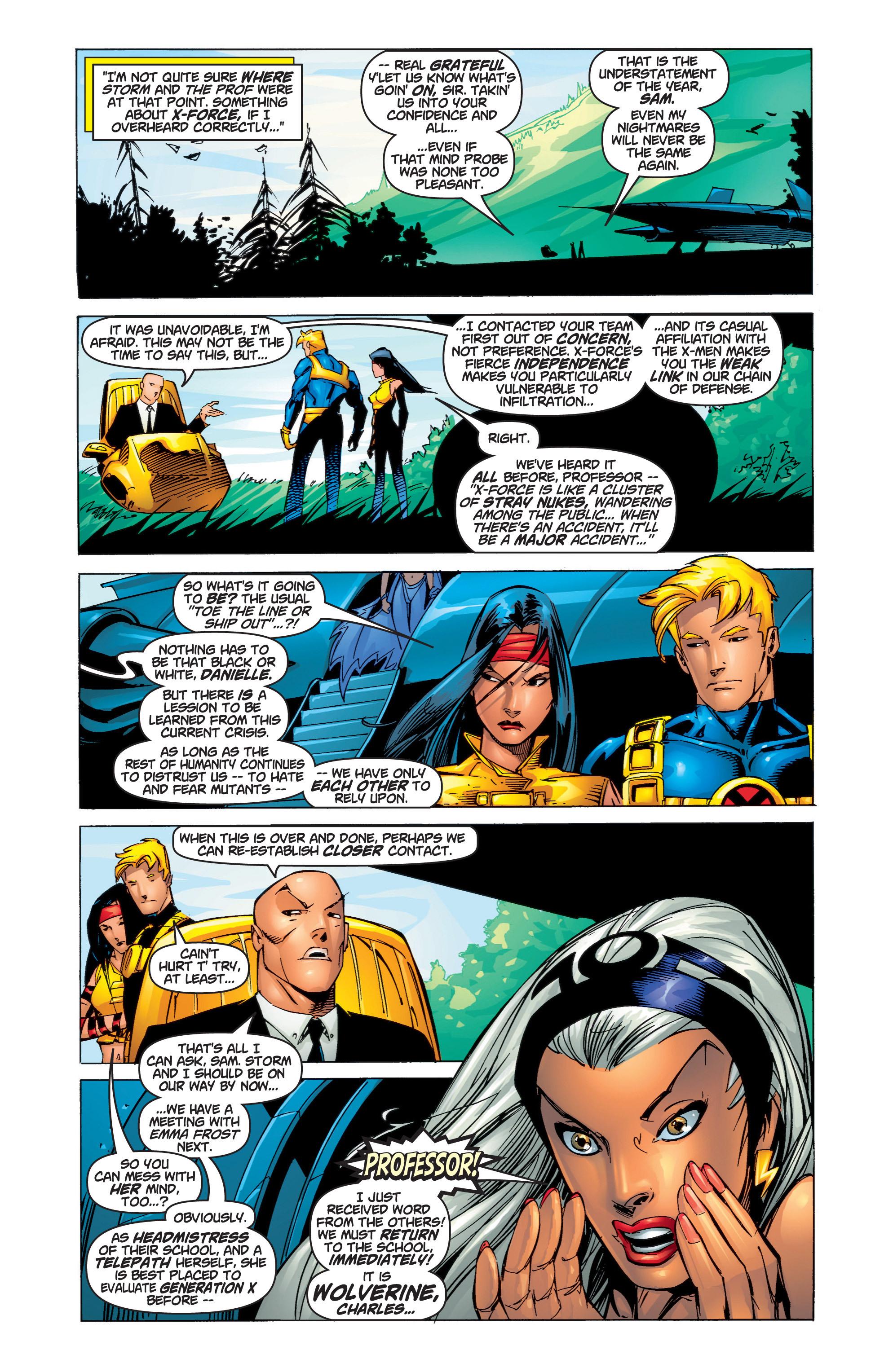 Read online Uncanny X-Men (1963) comic -  Issue #375 - 5