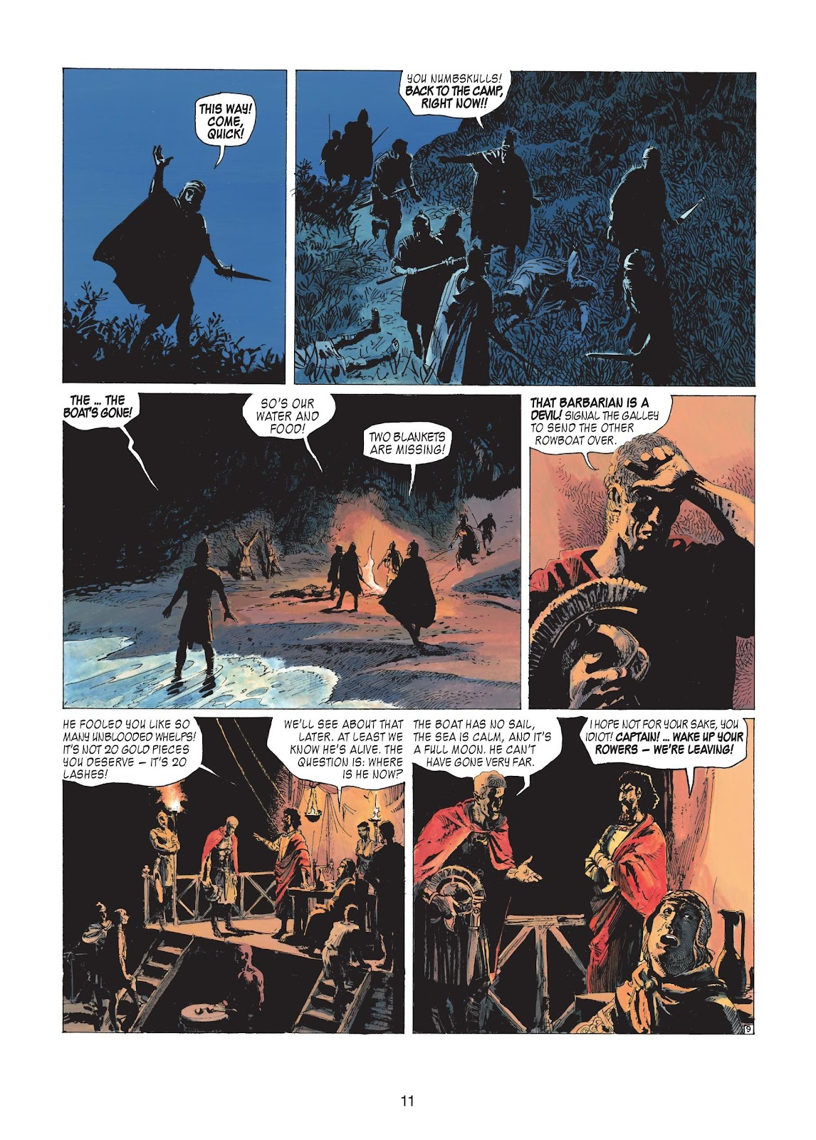 Read online Thorgal comic -  Issue #20 - 13
