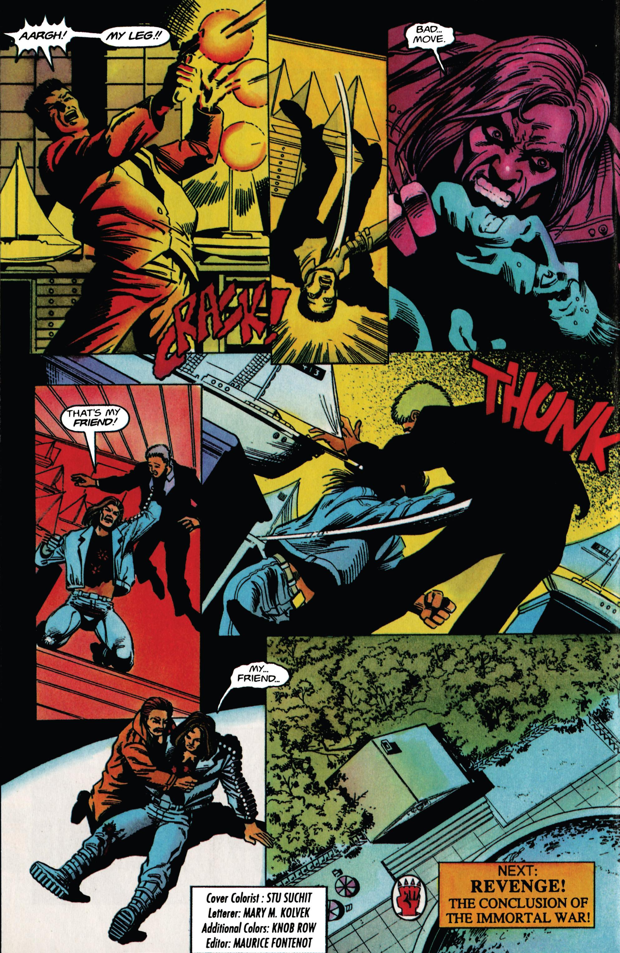 Read online Eternal Warrior (1992) comic -  Issue #30 - 21
