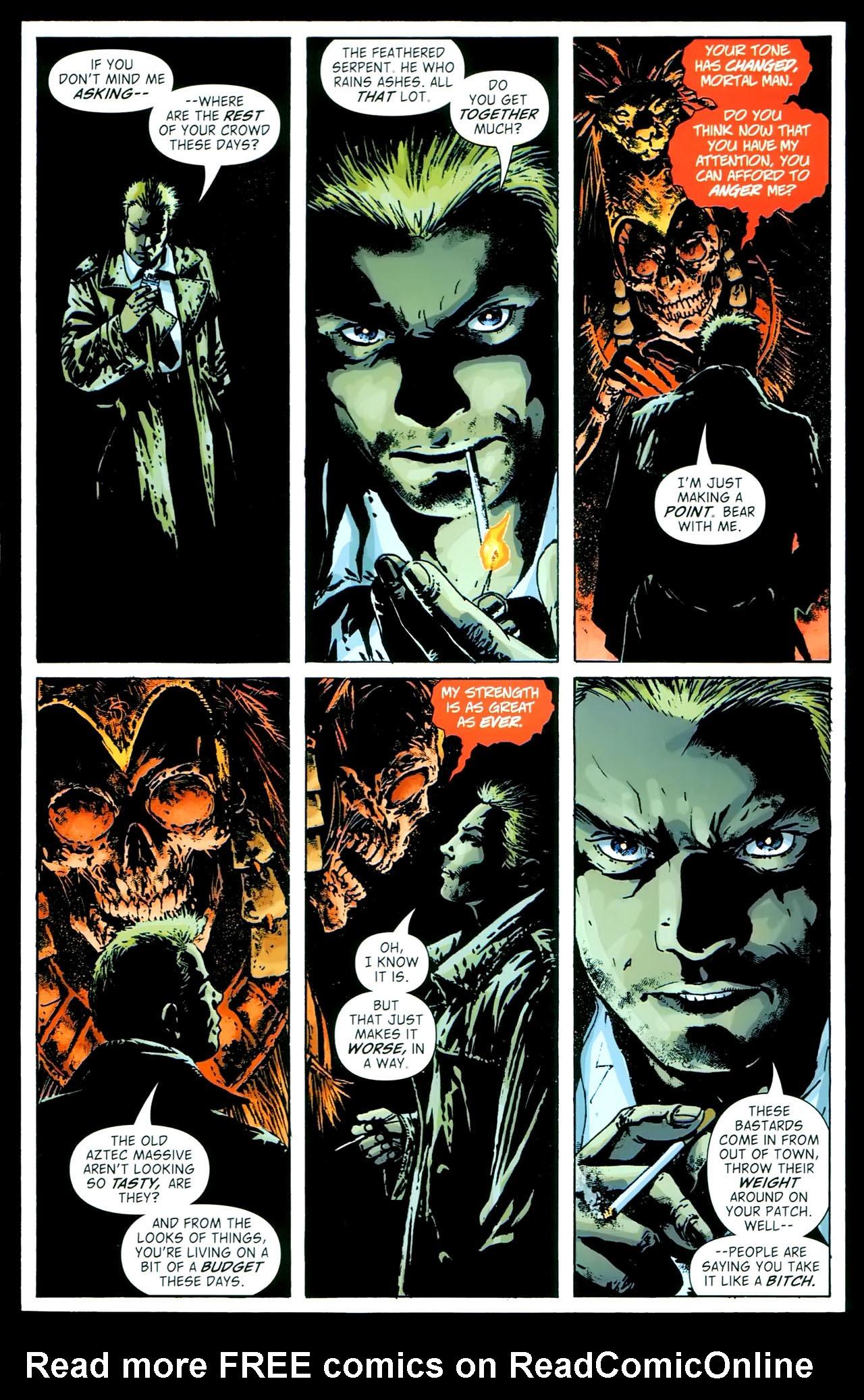 Read online John Constantine Hellblazer: All His Engines comic -  Issue # Full - 68