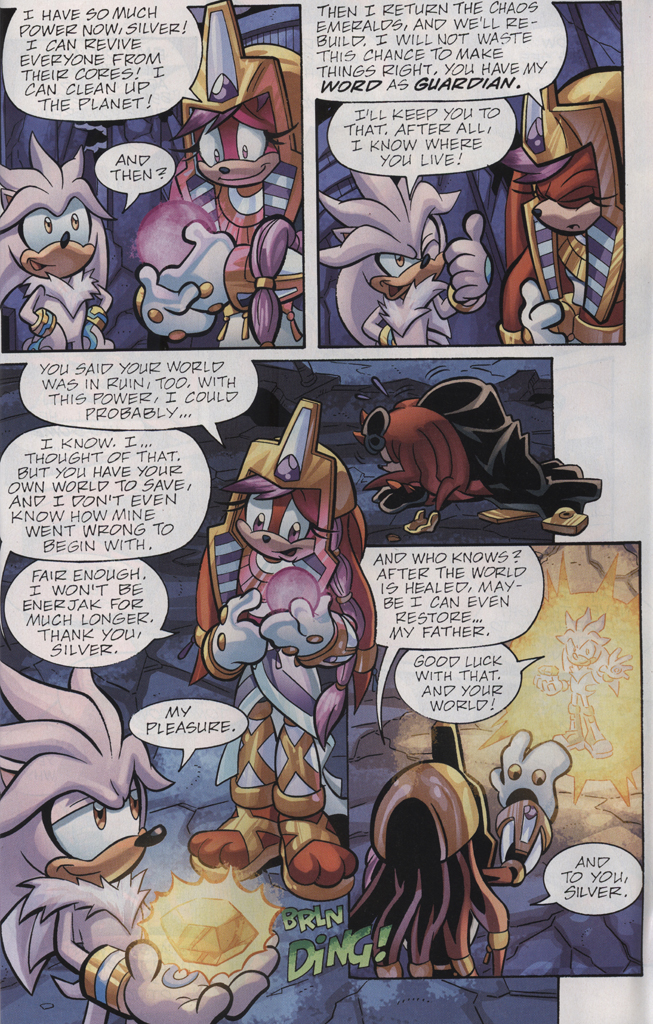Read online Sonic Universe comic -  Issue #28 - 29