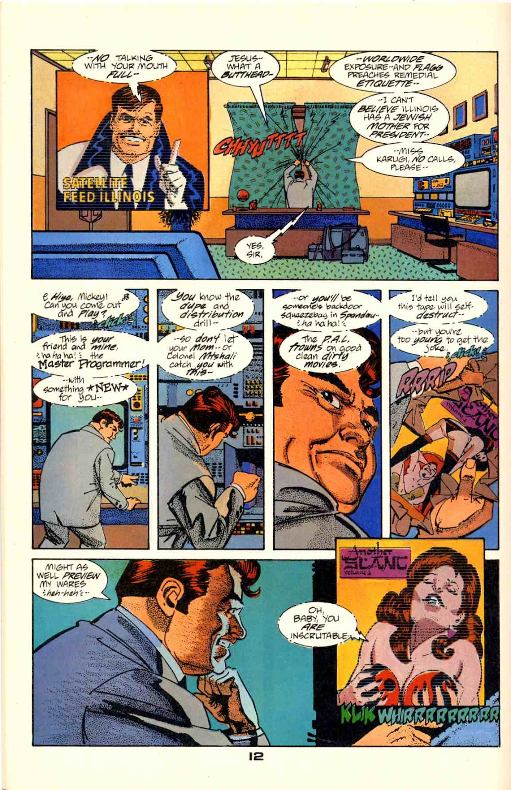 Howard Chaykin's American Flagg issue 2 - Page 14