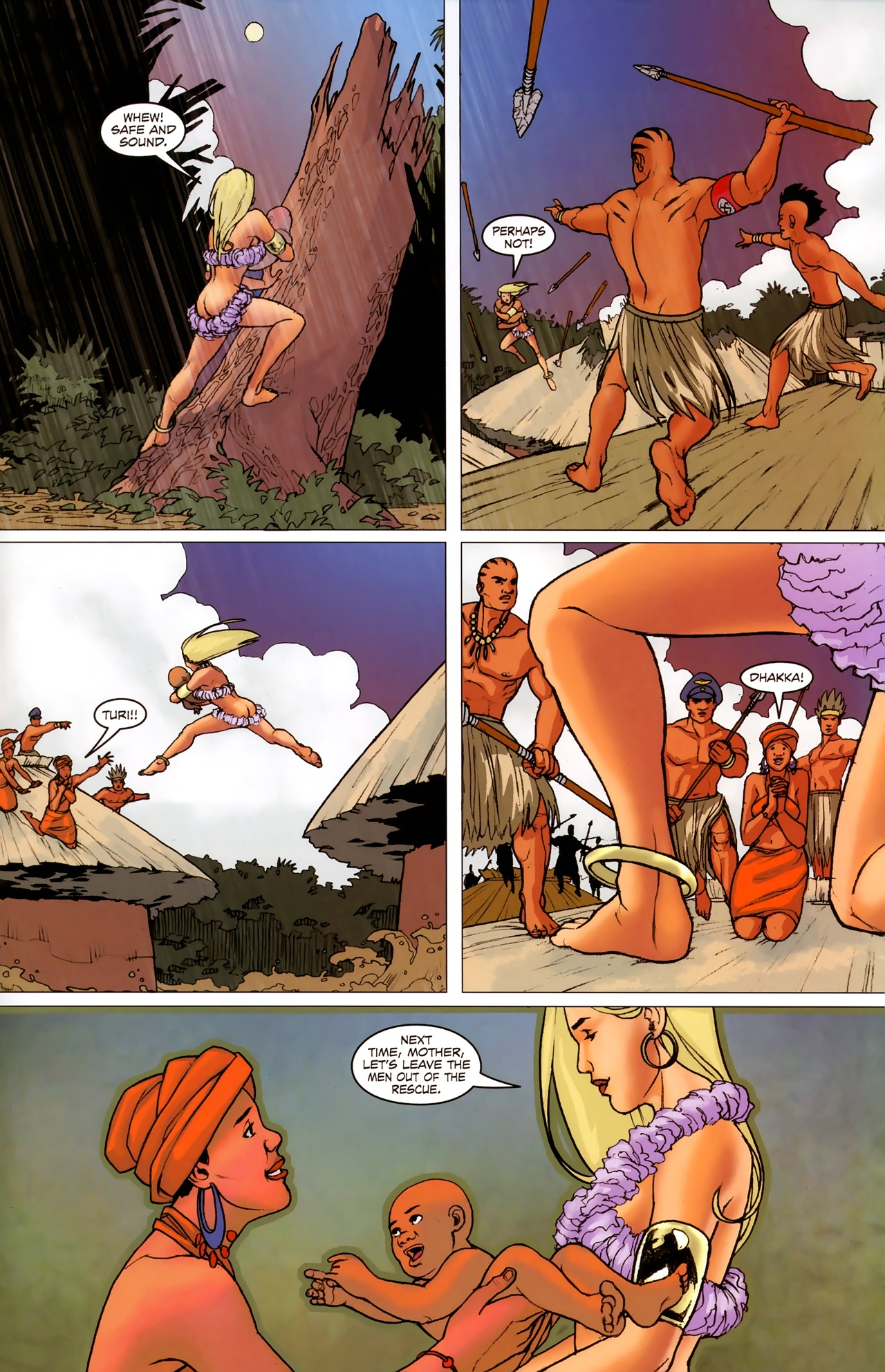 Read online Sheena Queen of the Jungle: Dark Rising comic -  Issue #2 - 18