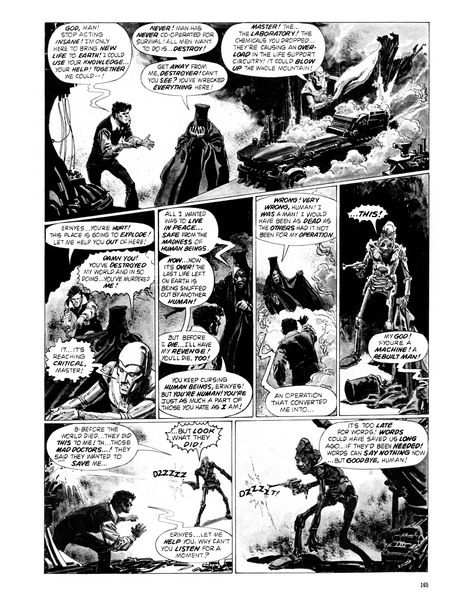 Read online Eerie Archives comic -  Issue # TPB 18 - 162