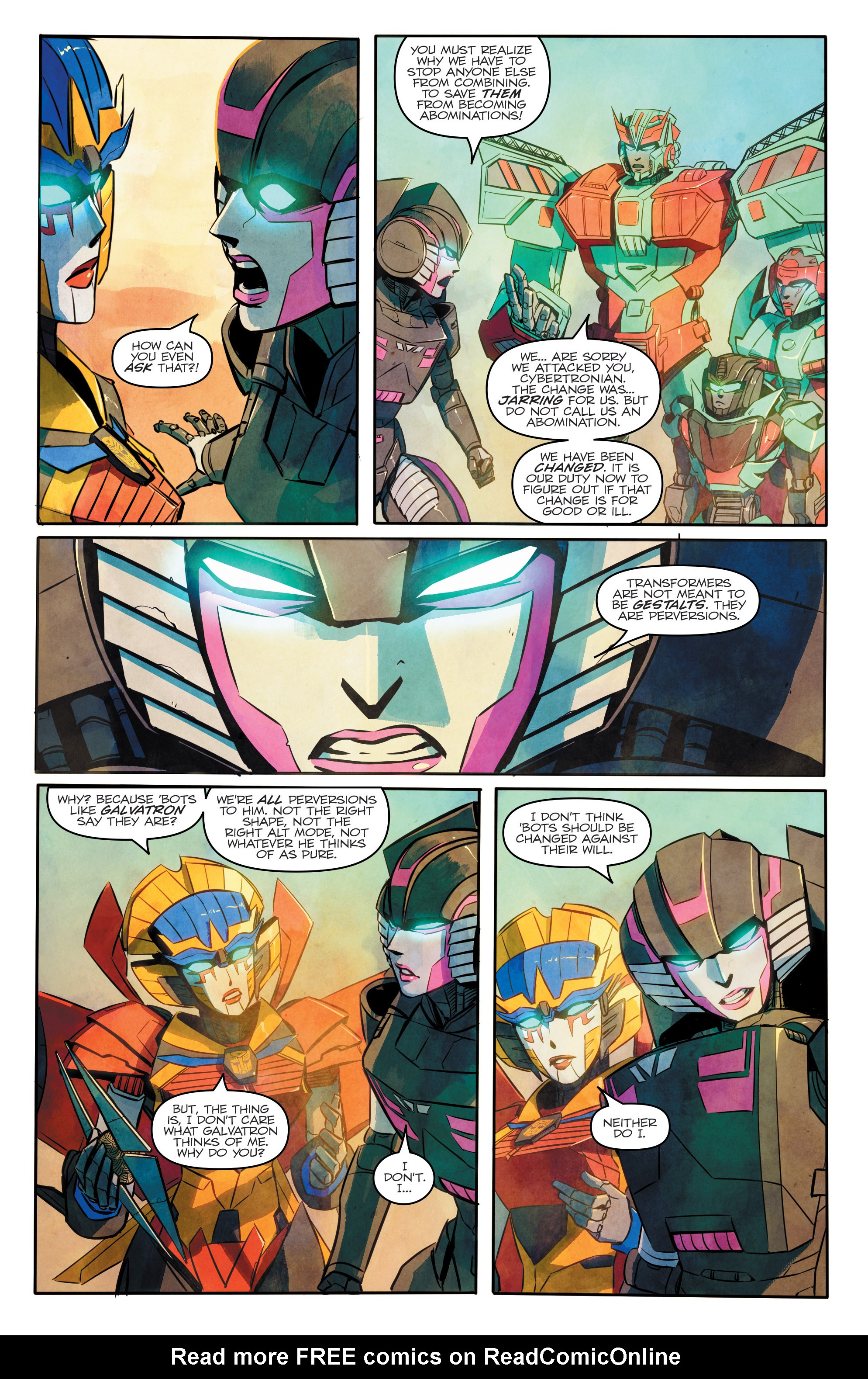 Read online Transformers: Combiner Hunters comic -  Issue # Full - 22