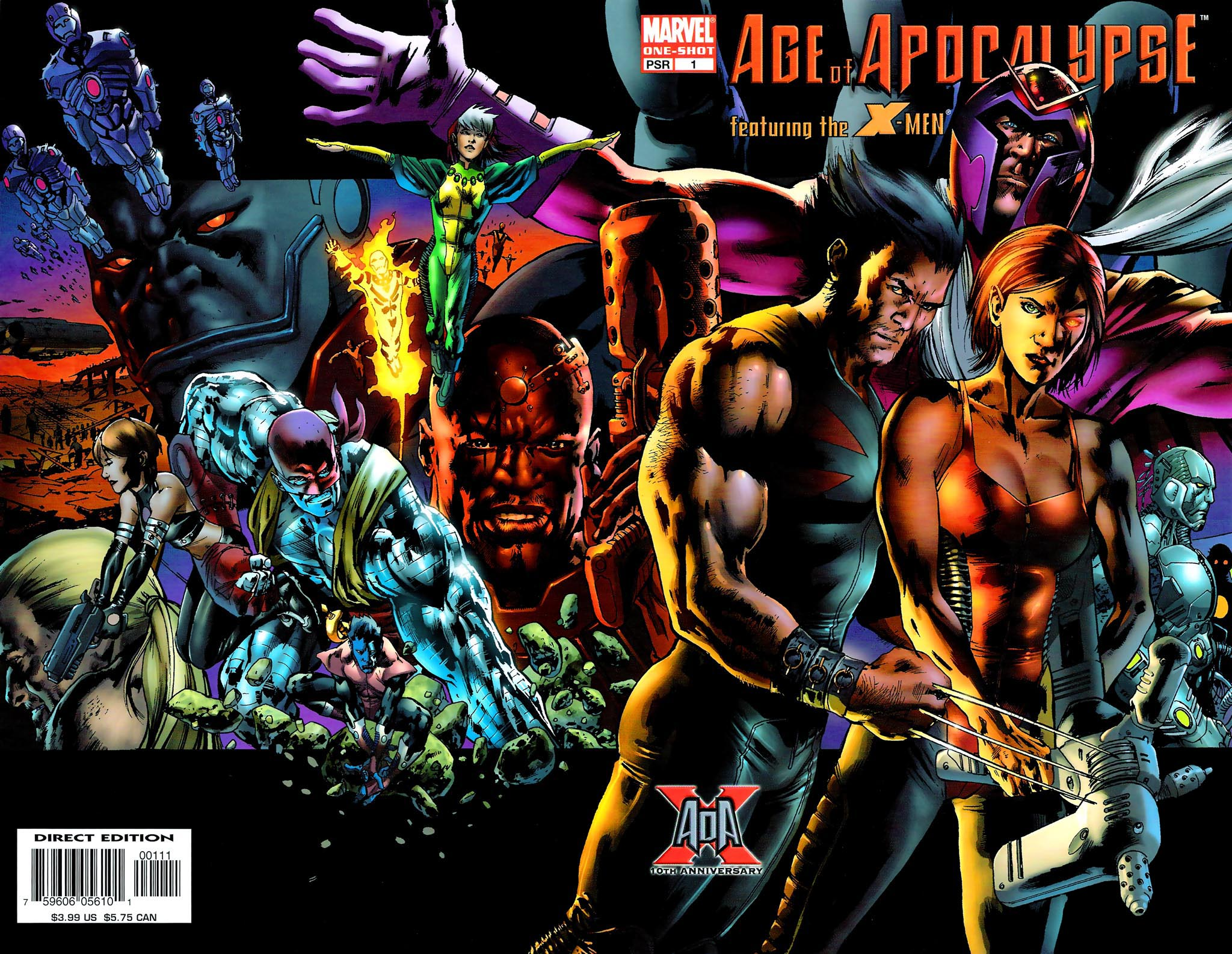 Age of Apocalypse (2005) 0 Page 1