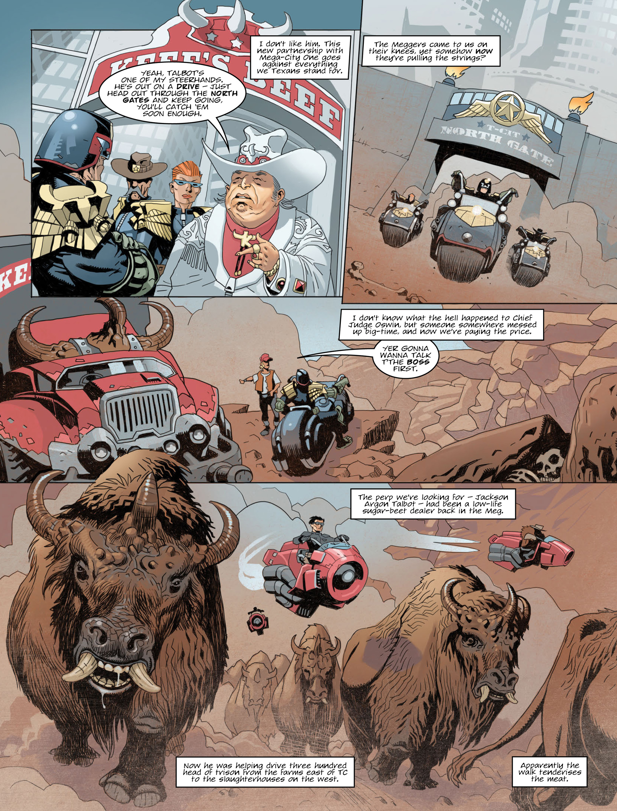 Read online 2000 AD comic -  Issue #2012 - 4