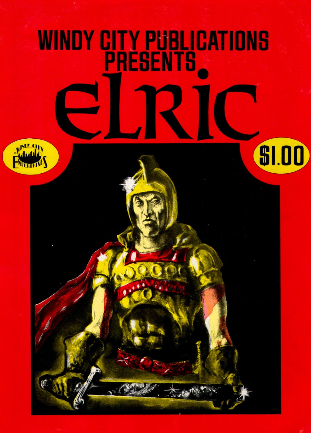 Elric (1973) issue Full - Page 1