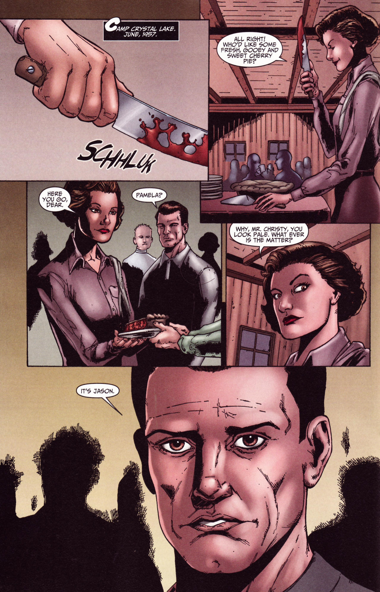 Read online Friday the 13th: Pamela's Tale comic -  Issue #2 - 10