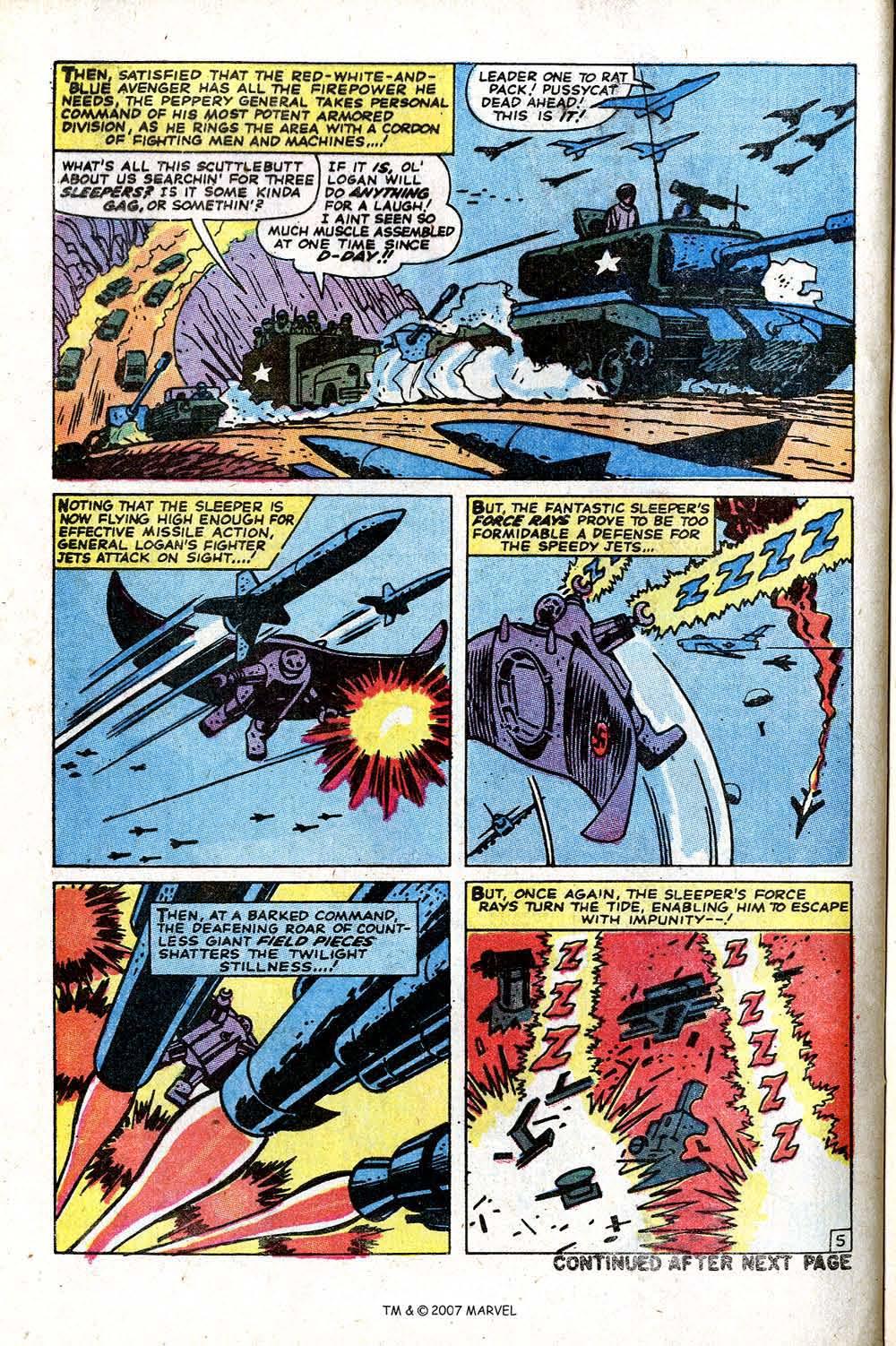 Read online Captain America (1968) comic -  Issue # _Annual 2 - 34