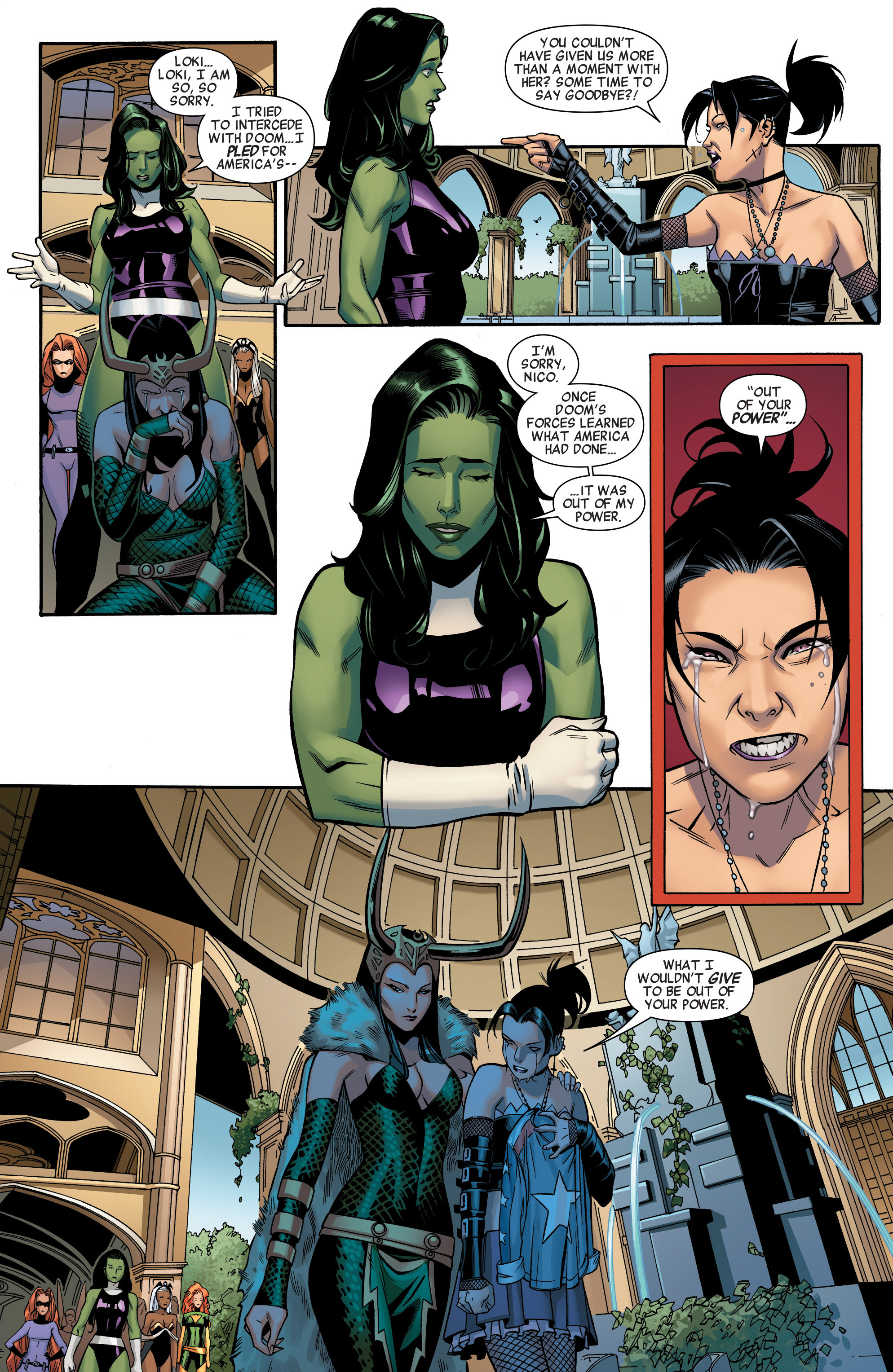 Read online A-Force (2015) comic -  Issue #1 - 16