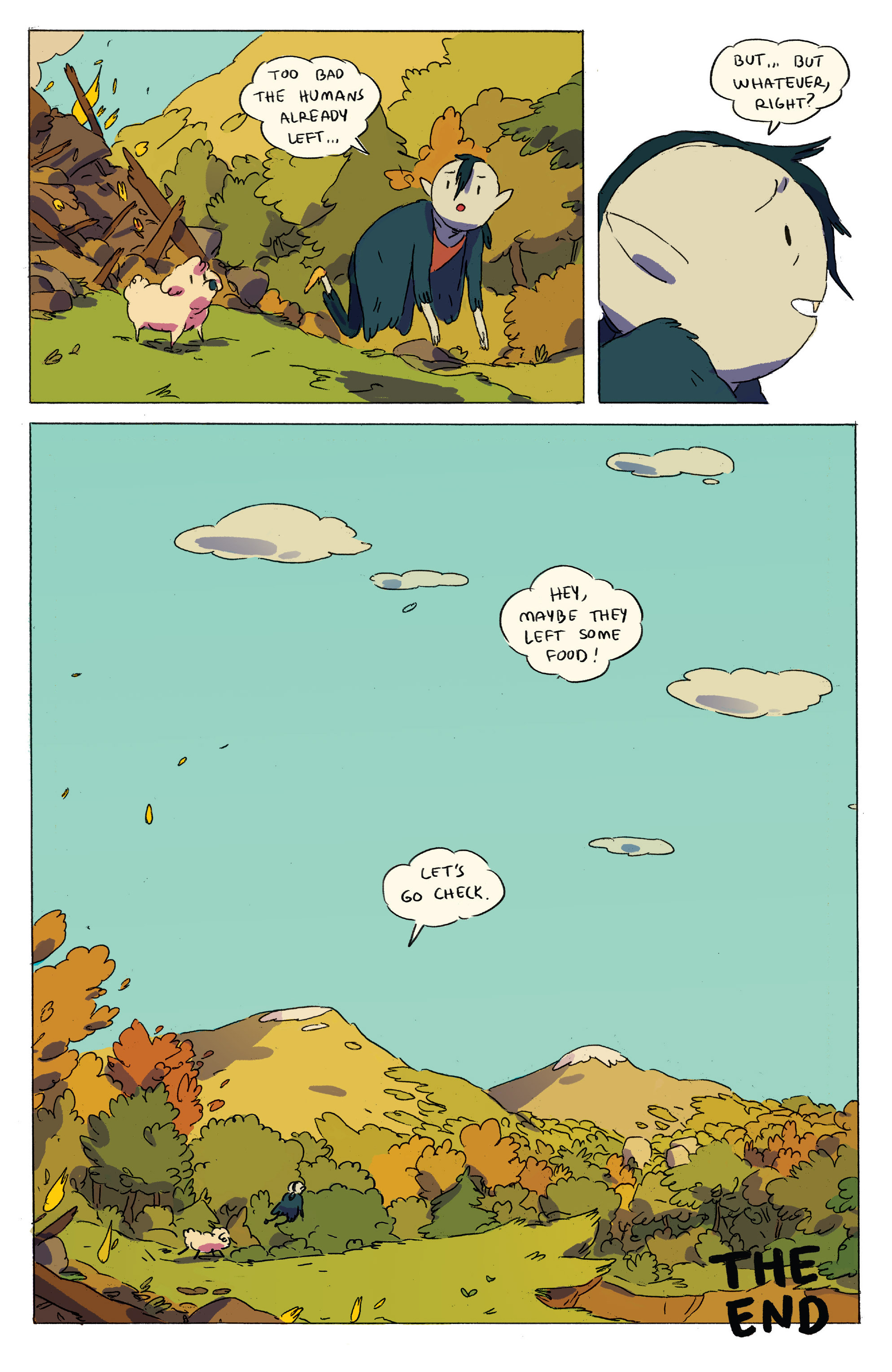 Read online Adventure Time comic -  Issue # _2015 Spoooktacular - 34