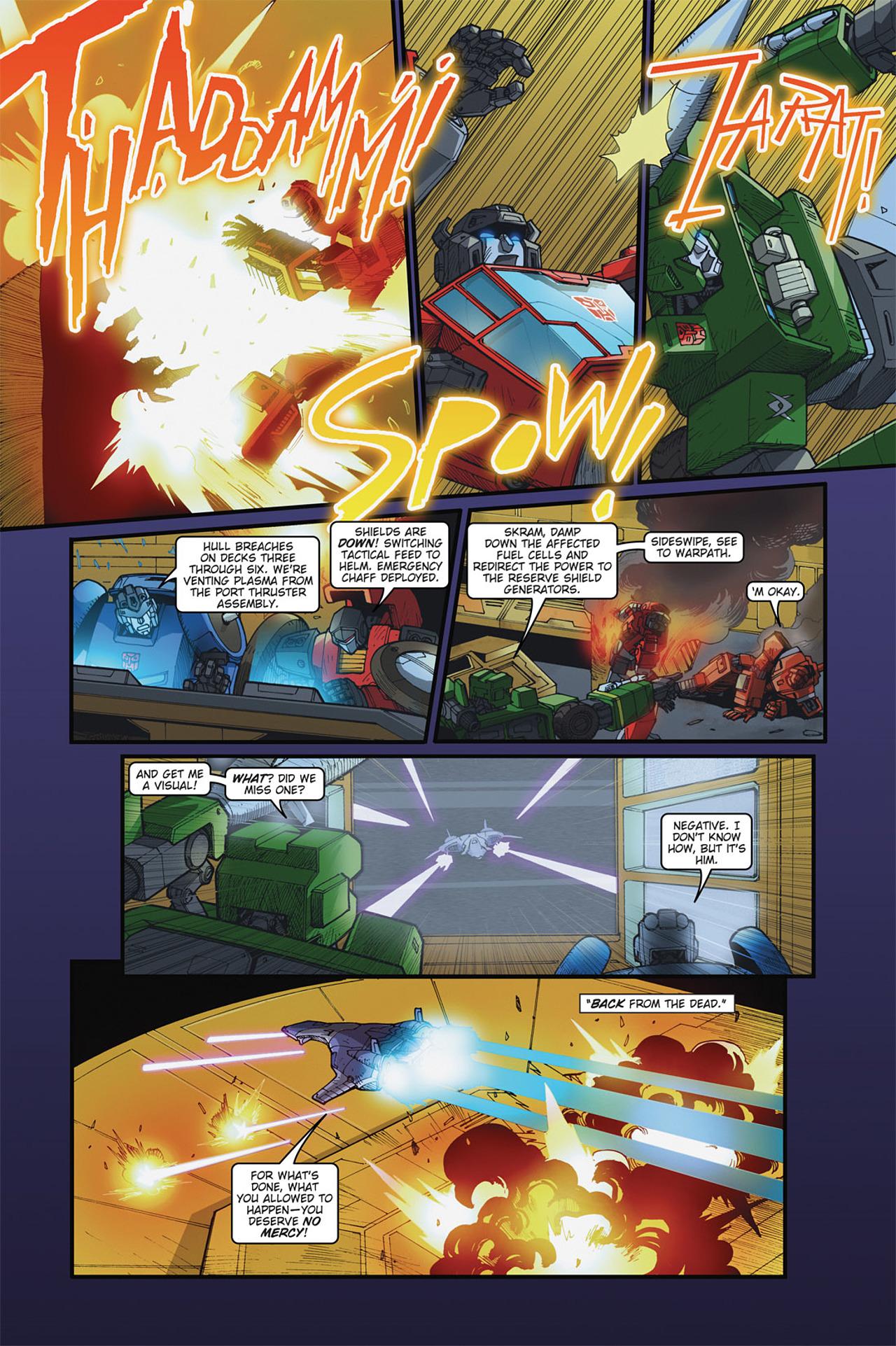 Read online Transformers Spotlight: Cyclonus comic -  Issue # Full - 11