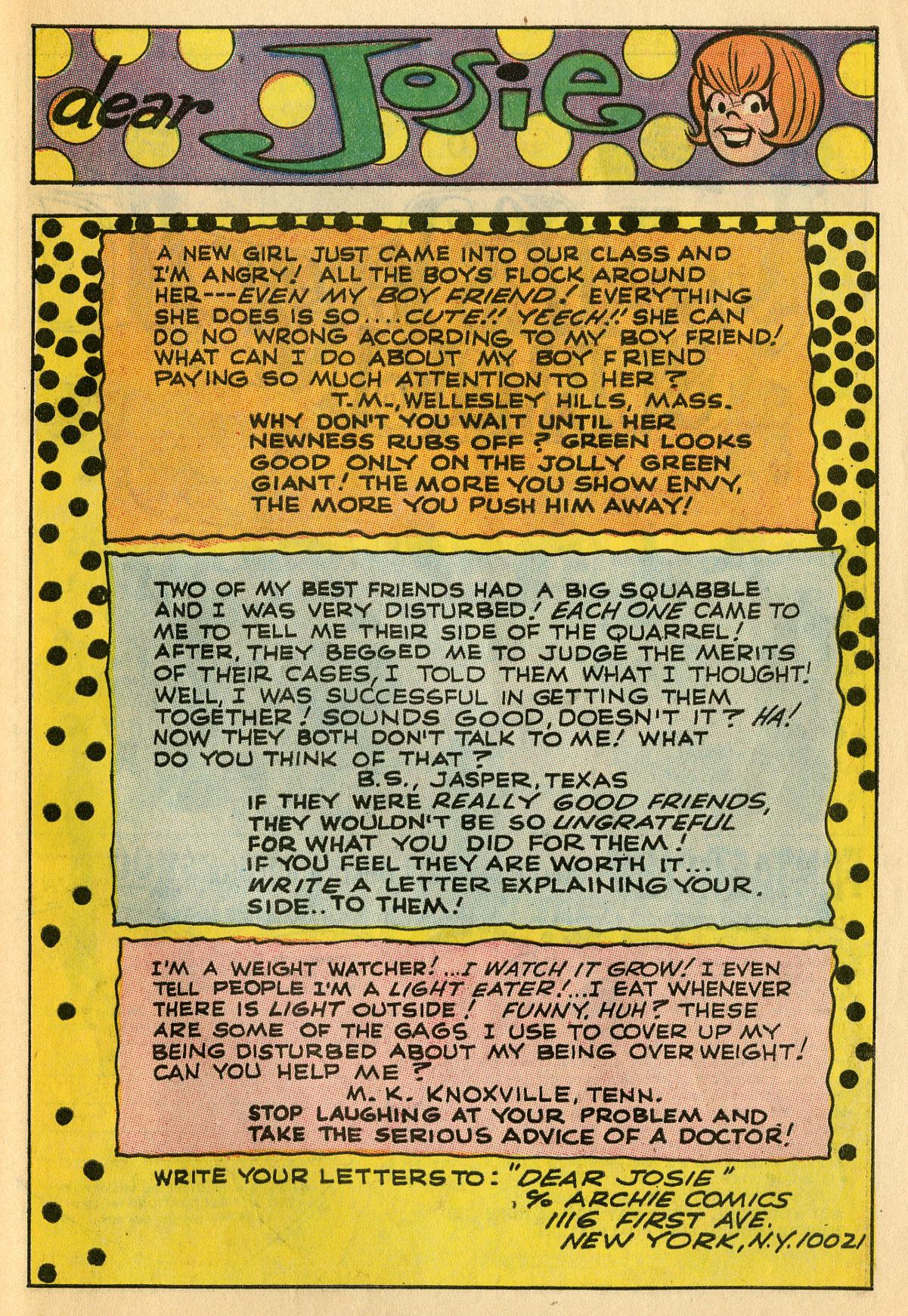 Read online She's Josie comic -  Issue #39 - 27