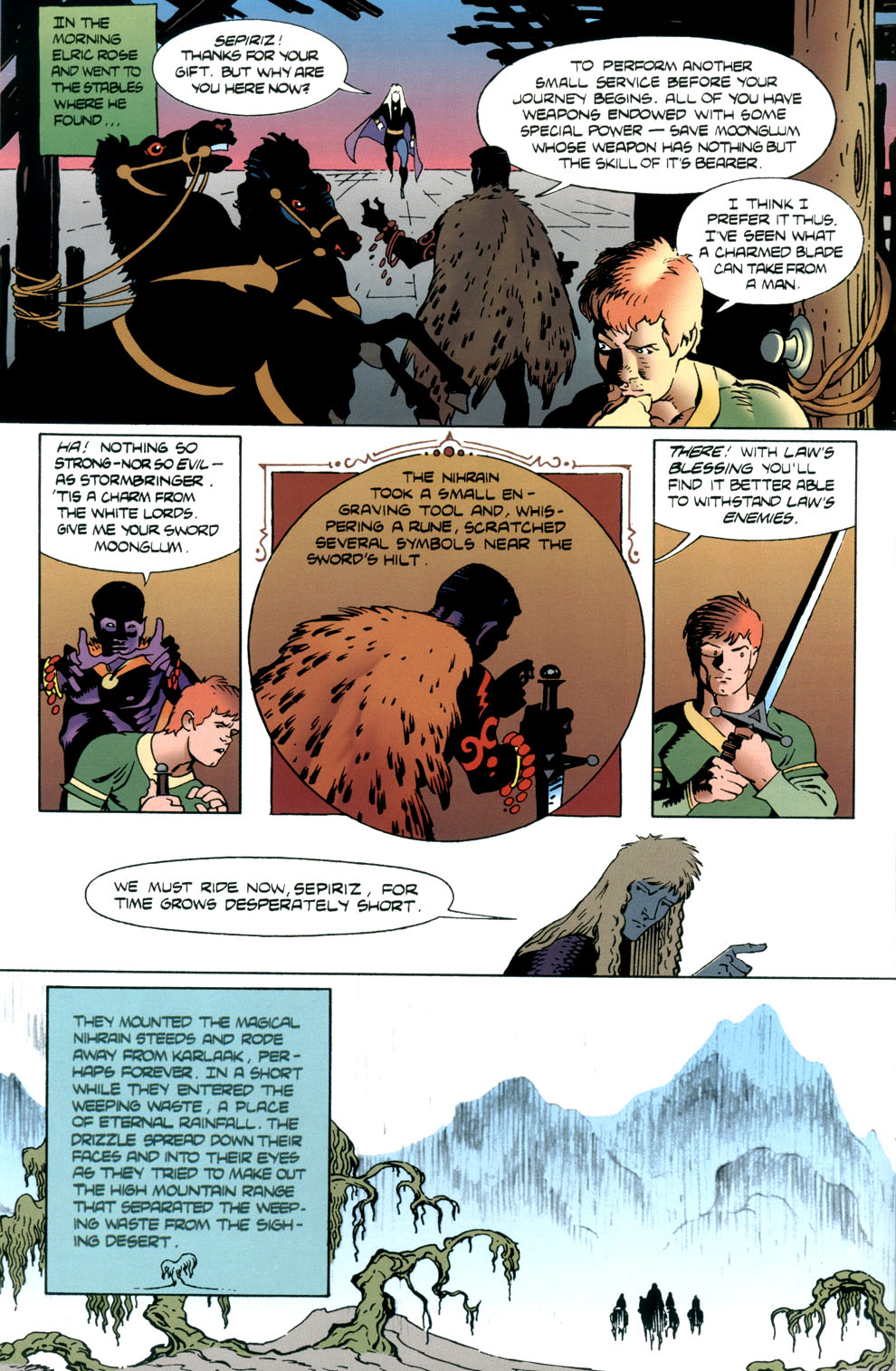 Read online Elric: Stormbringer comic -  Issue #5 - 10