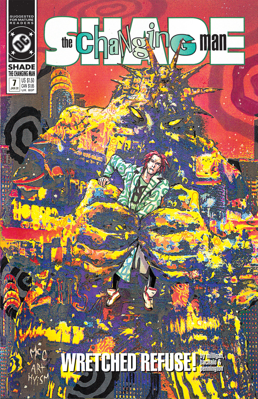 Shade, the Changing Man (1990) issue 7 - Page 1