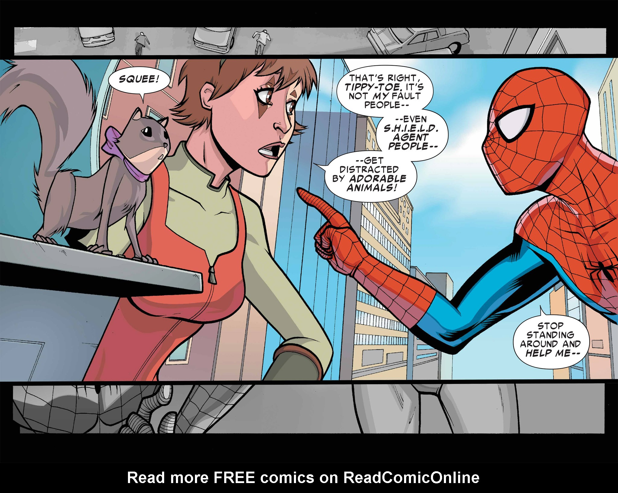 Read online Ultimate Spider-Man (Infinite Comics) (2016) comic -  Issue #1 - 15
