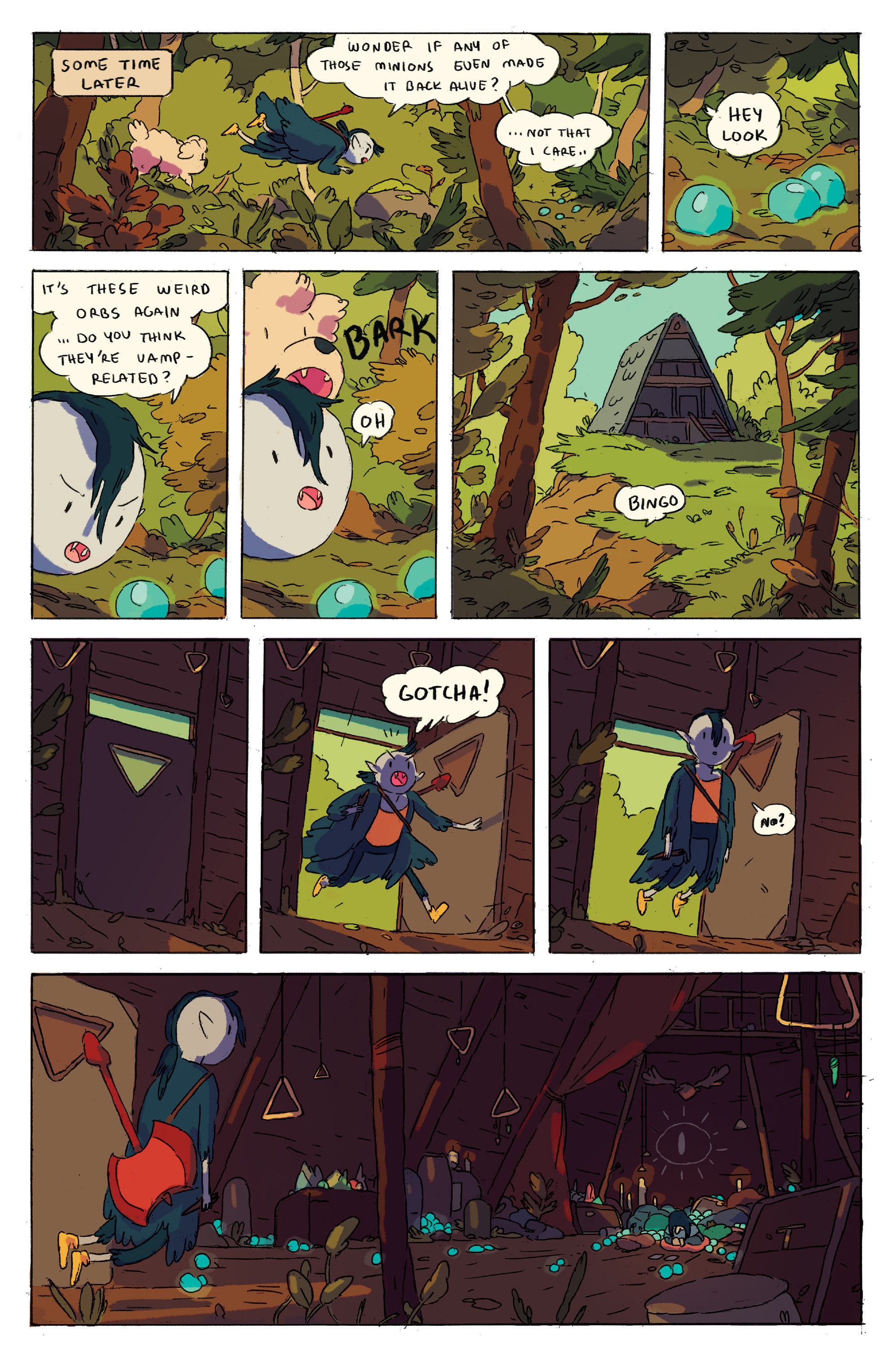 Read online Adventure Time comic -  Issue # _2015 Spoooktacular - 23