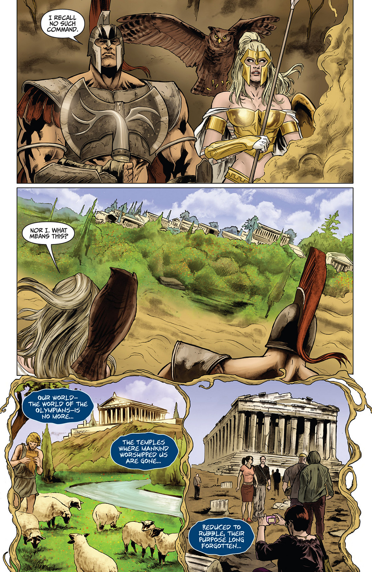 Read online Athena comic -  Issue #3 - 11