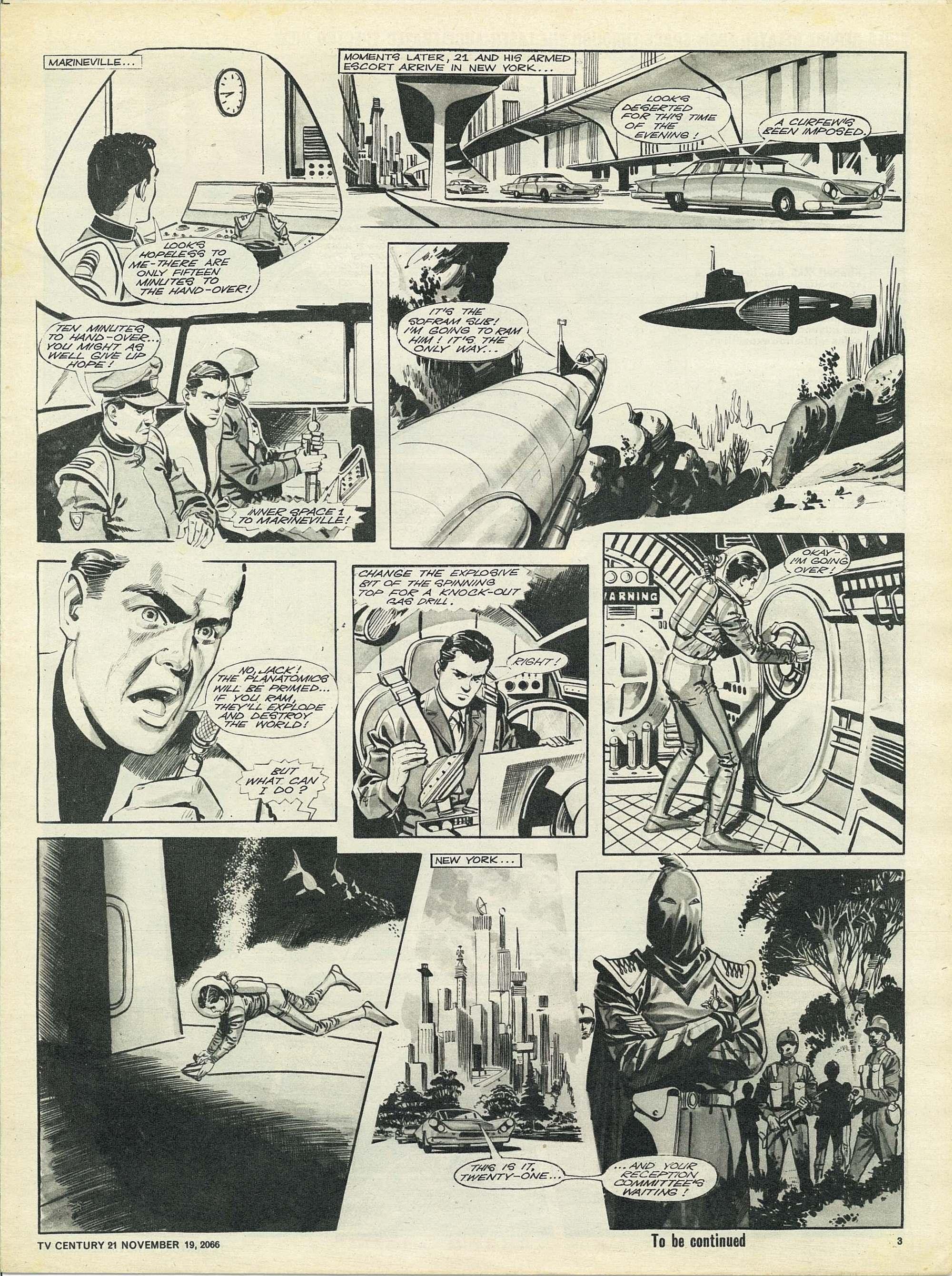 Read online TV Century 21 (TV 21) comic -  Issue #96 - 3