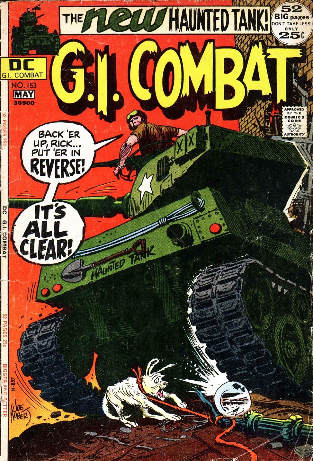 G.I. Combat (1952) issue 153 - Page 1