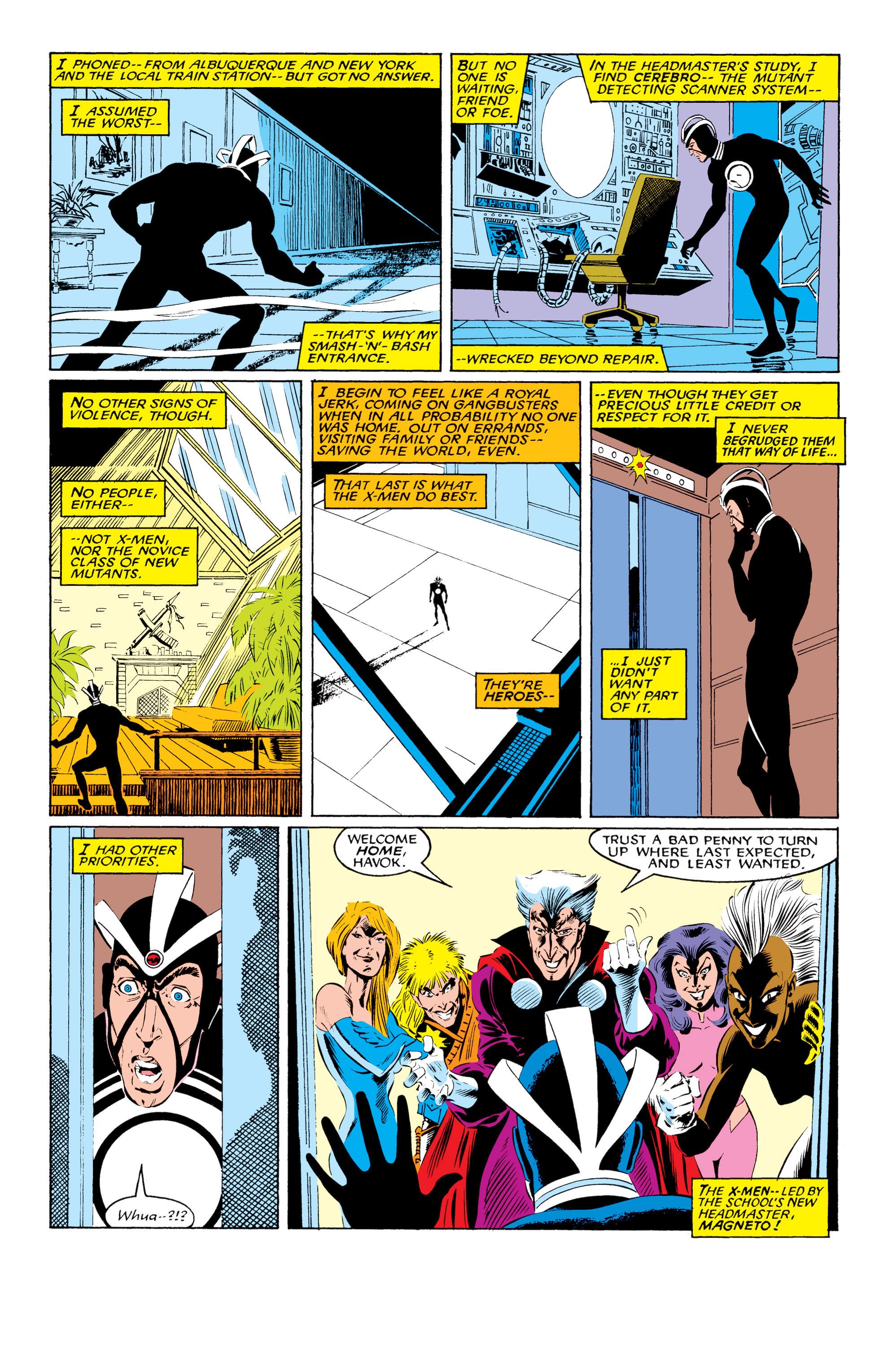 Read online Uncanny X-Men (1963) comic -  Issue #219 - 3