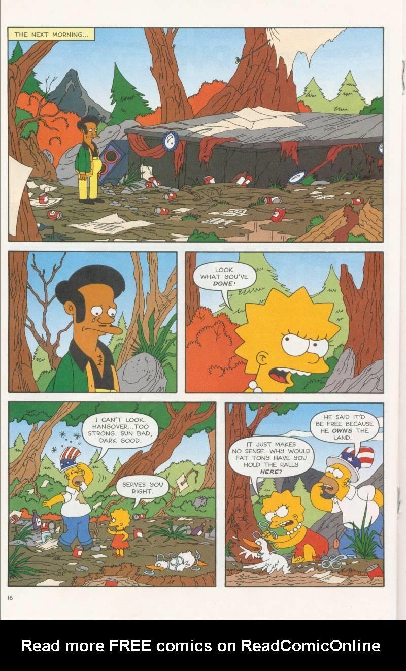 Read online Simpsons Comics comic -  Issue #58 - 17