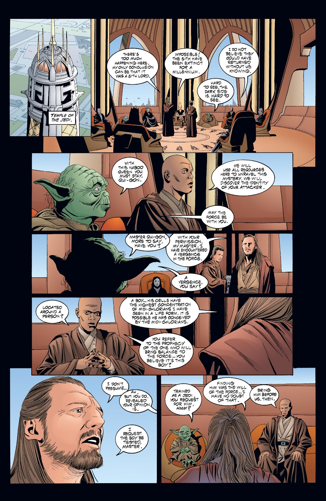 Read online Star Wars Legends: Rise of the Sith - Epic Collection comic -  Issue # TPB 2 (Part 4) - 2