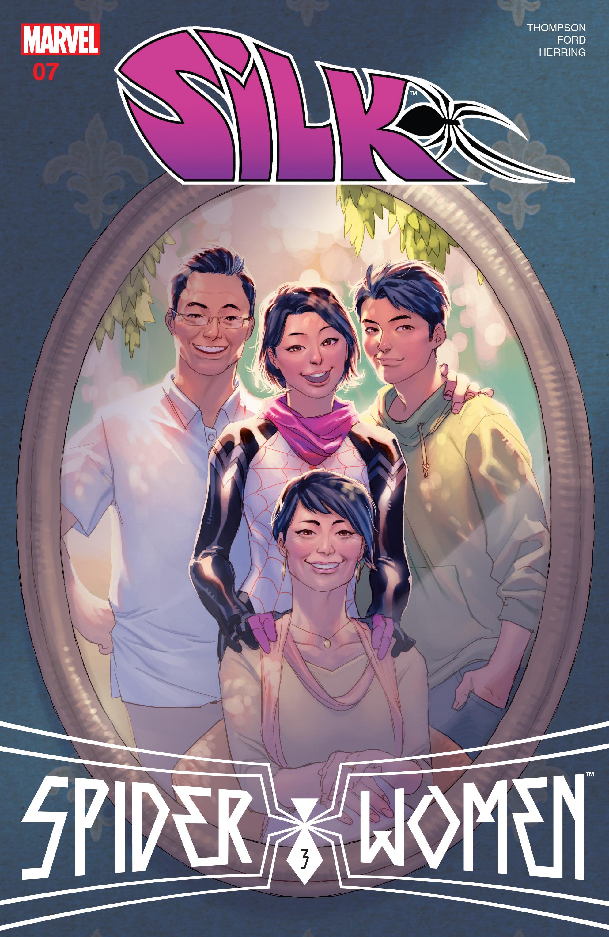 Read online Silk (2016) comic -  Issue #7 - 1