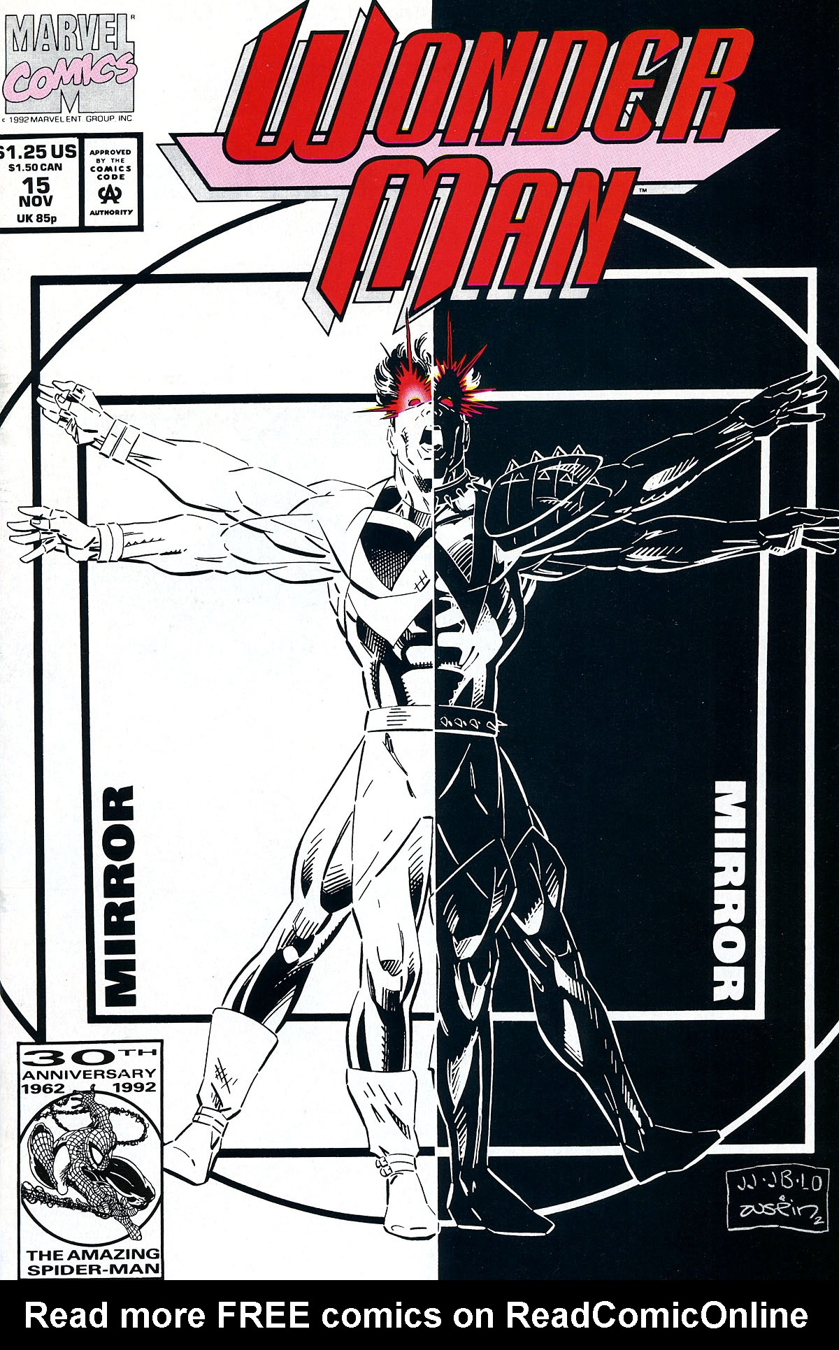 Read online Wonder Man (1991) comic -  Issue #15 - 1