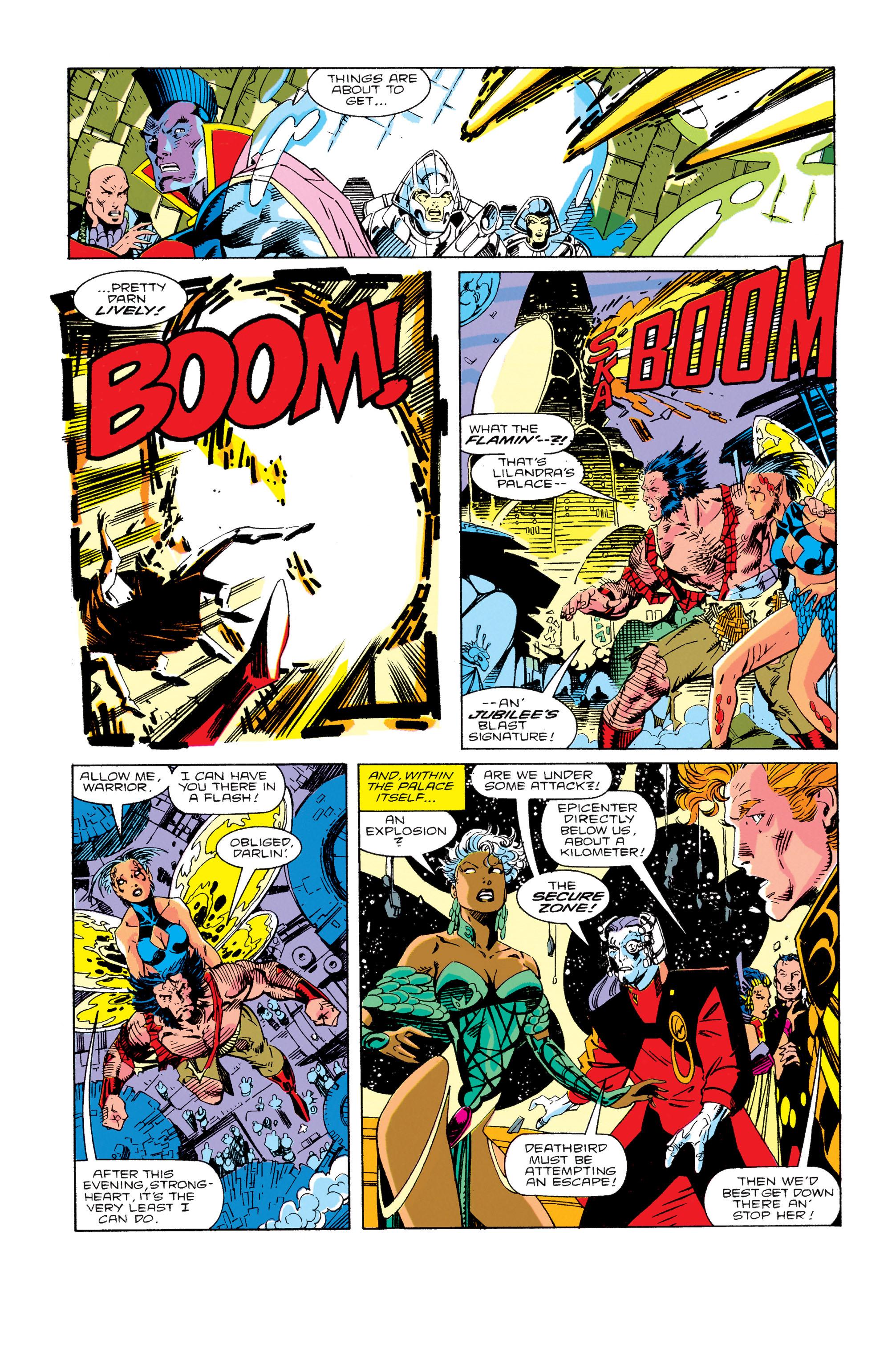 Read online Uncanny X-Men (1963) comic -  Issue #276 - 9
