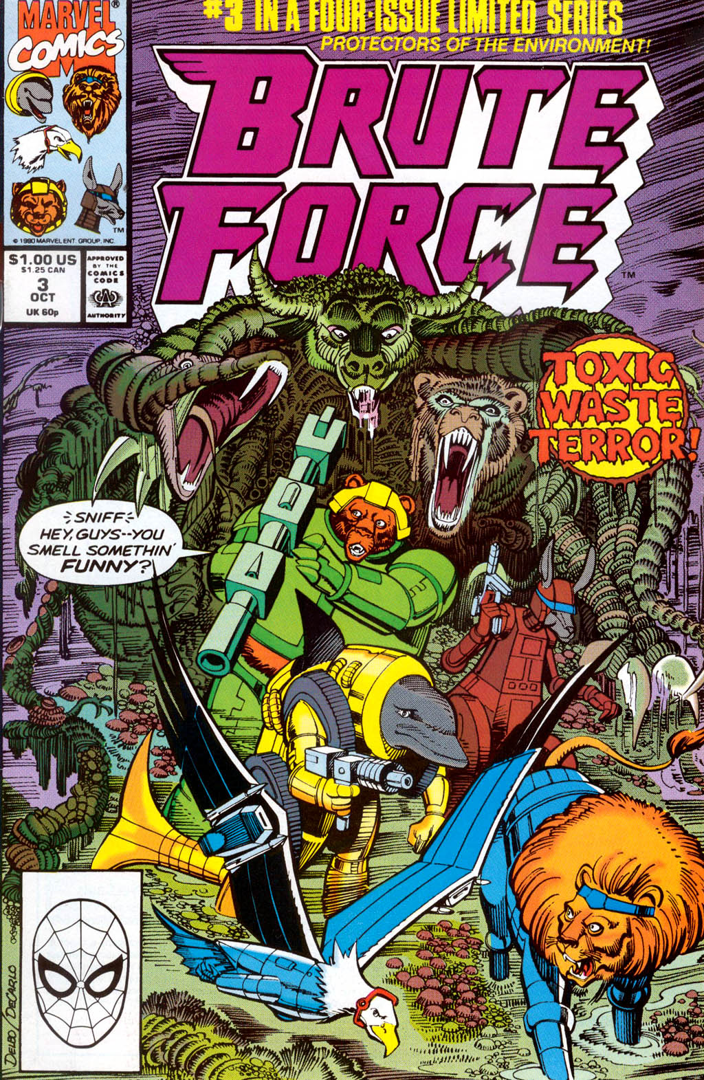 Brute Force 3 Page 1