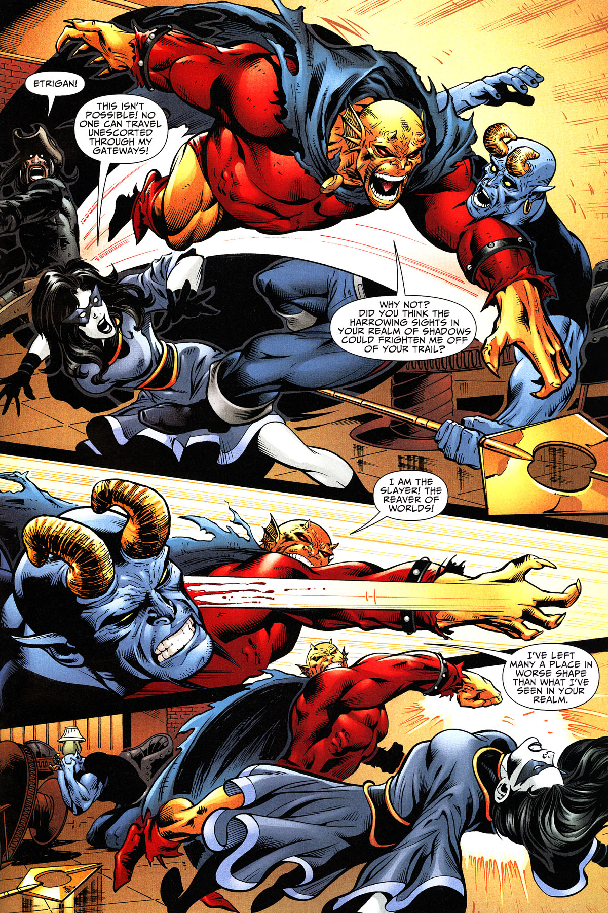 Read online Shadowpact comic -  Issue #11 - 19
